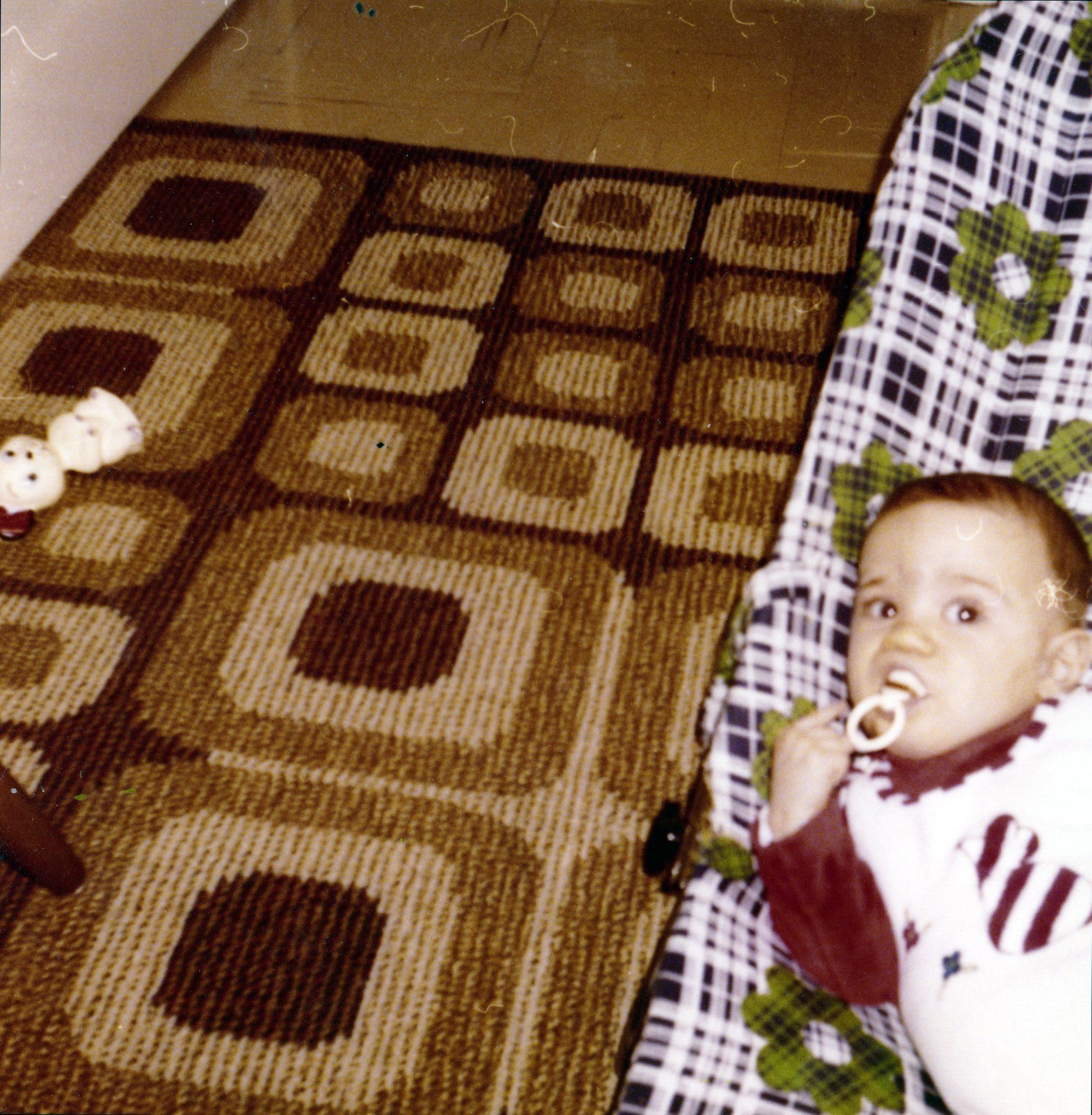 Weihnachten 1977 - Thilos first Schnuller