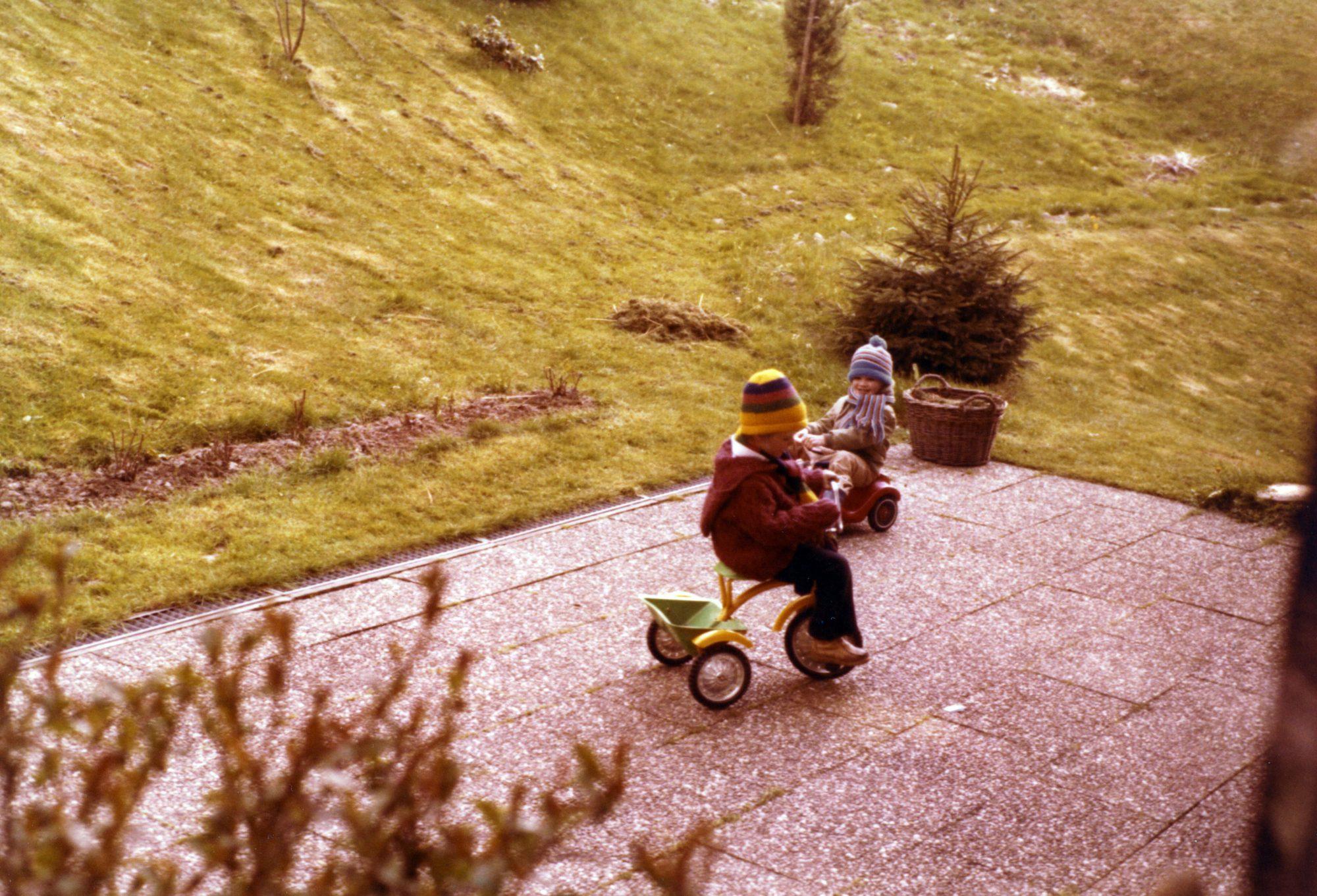 1981 - Thilo und Michael in Mitteltal