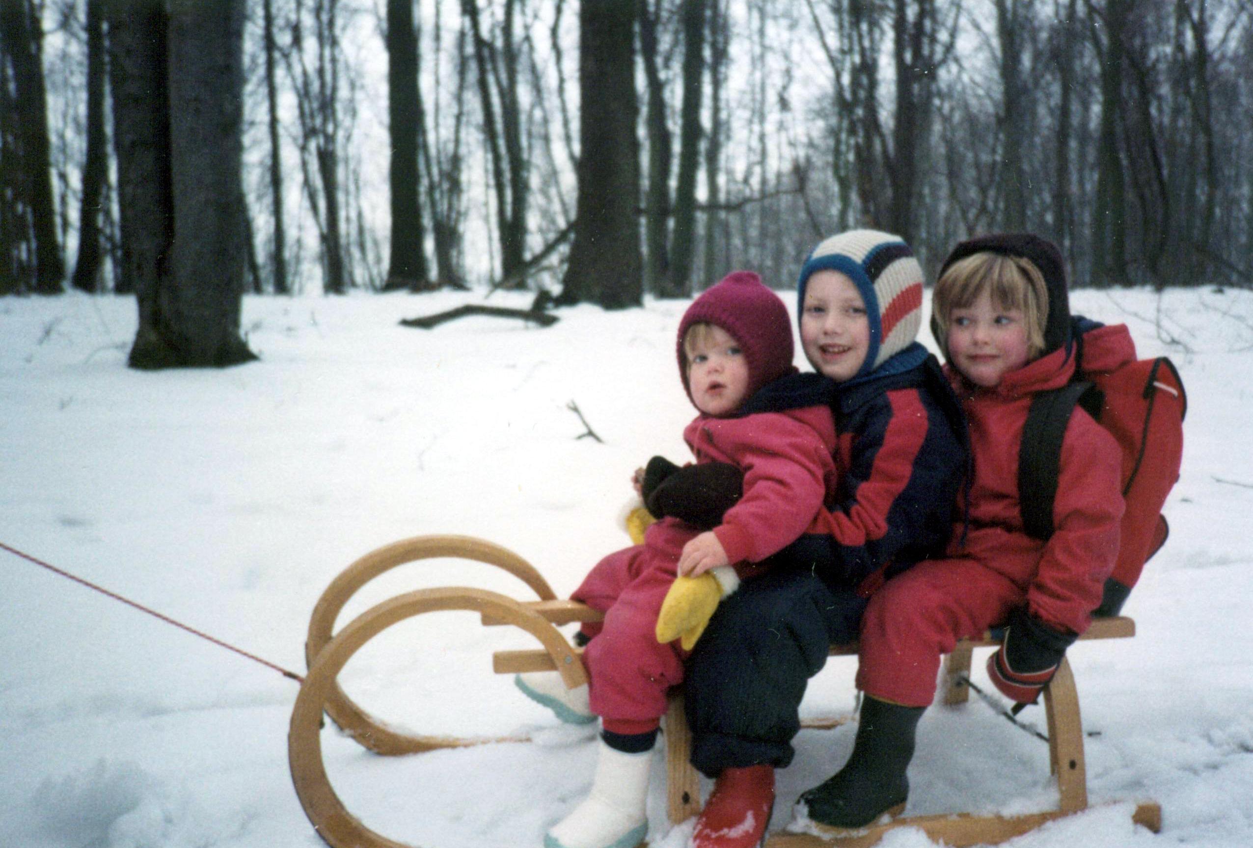 1984 - Schlittenfahrt