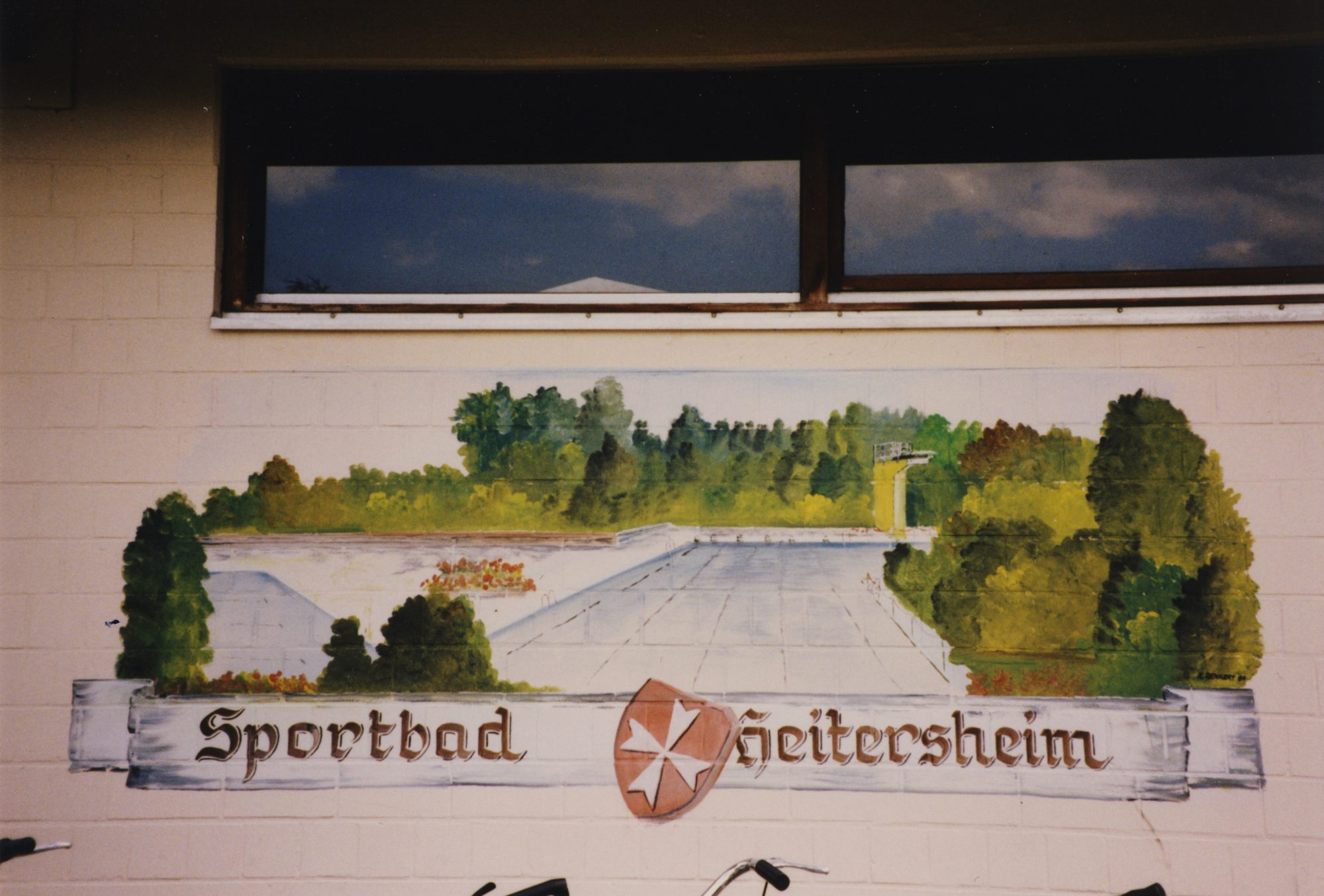 Sommer 1991 - Sportbad Heitersheim