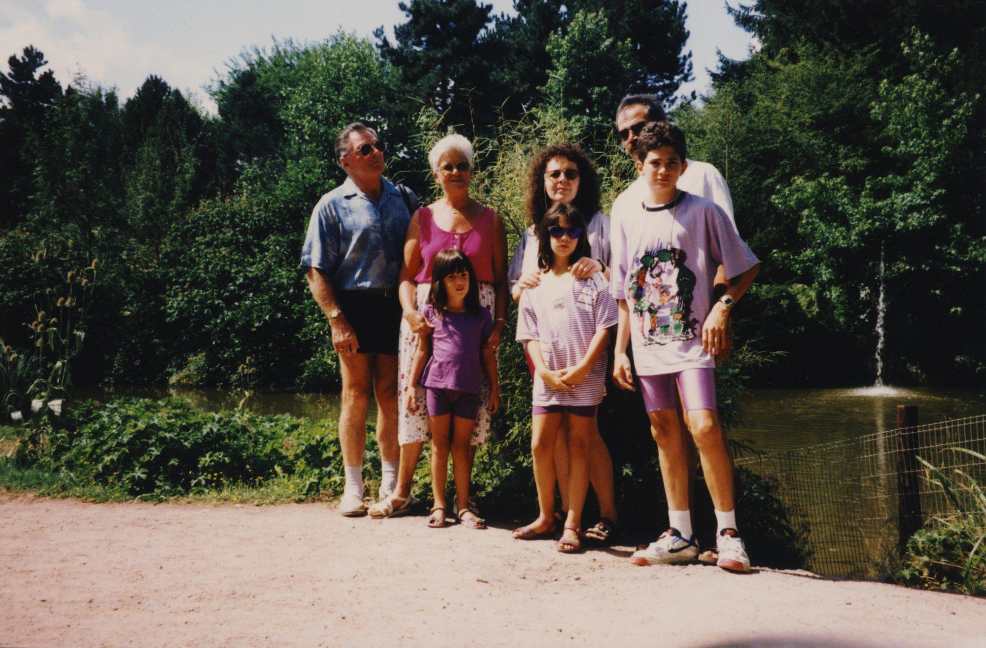Sommer 1991 - Familienausflug mit Opi, Omi, Tammi, Edith, Sabrina, Vater und mir.