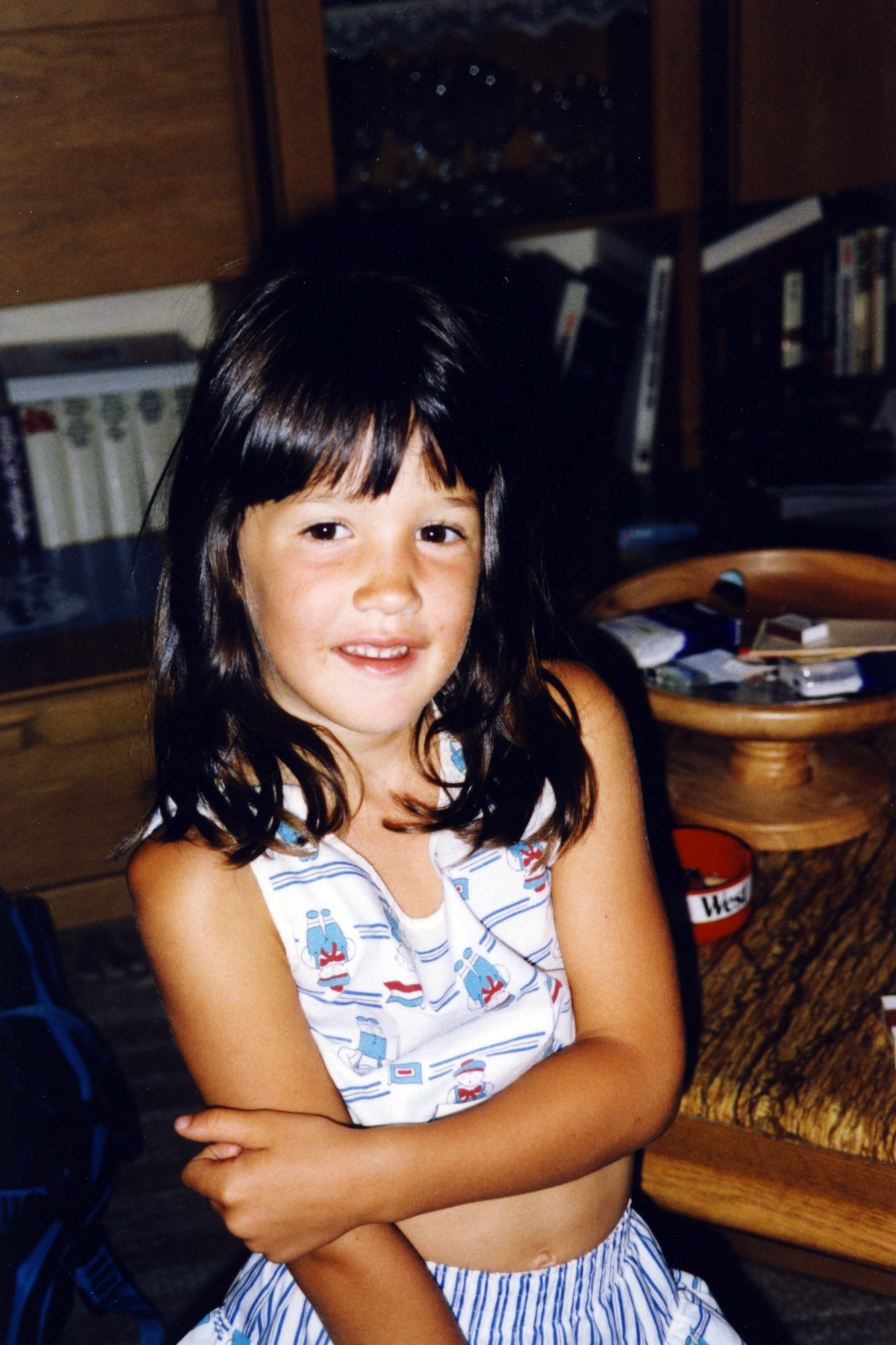Tamara im Sommer 1991.