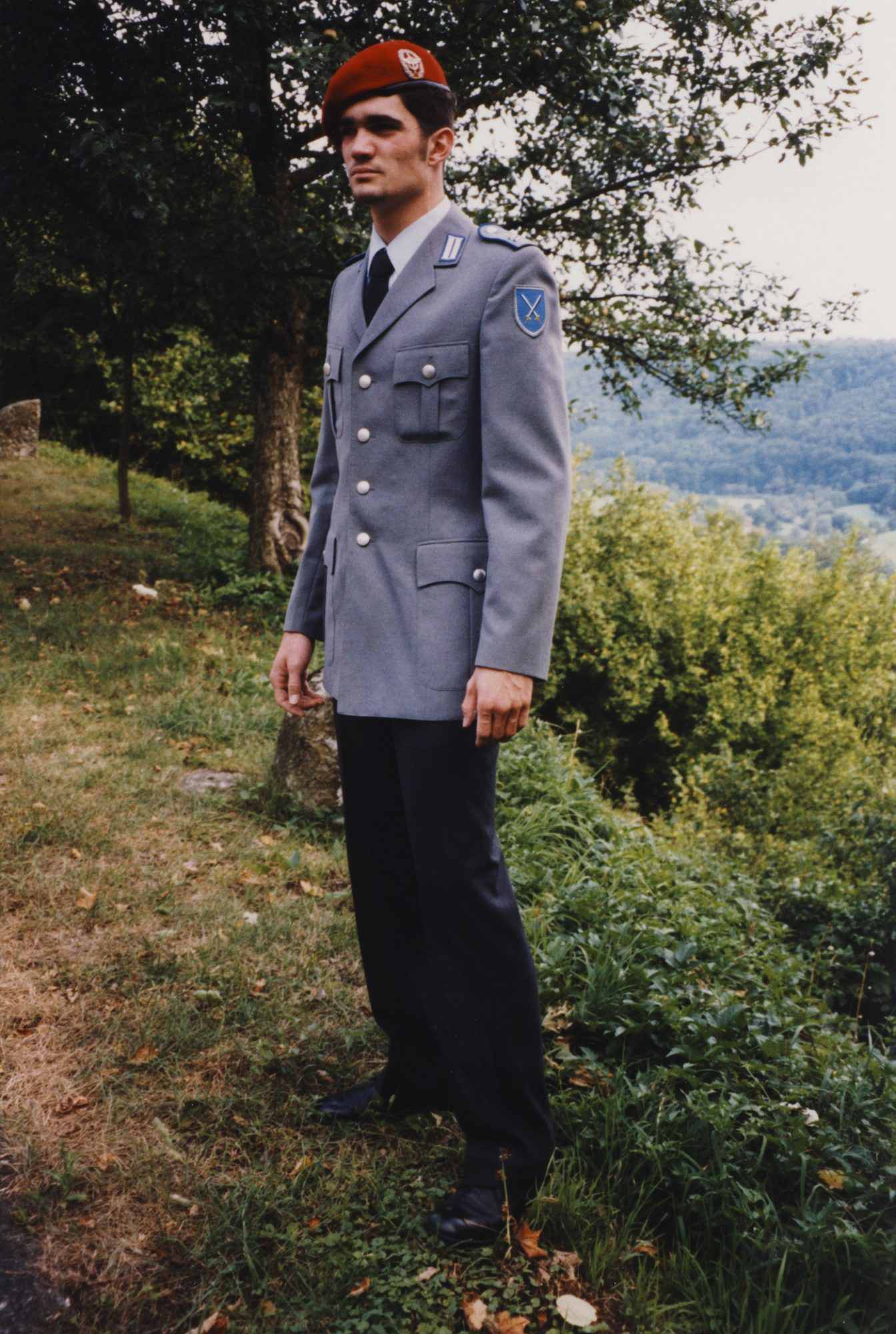 Thilo in Uniform, Wehrdienst 1997 -1998.