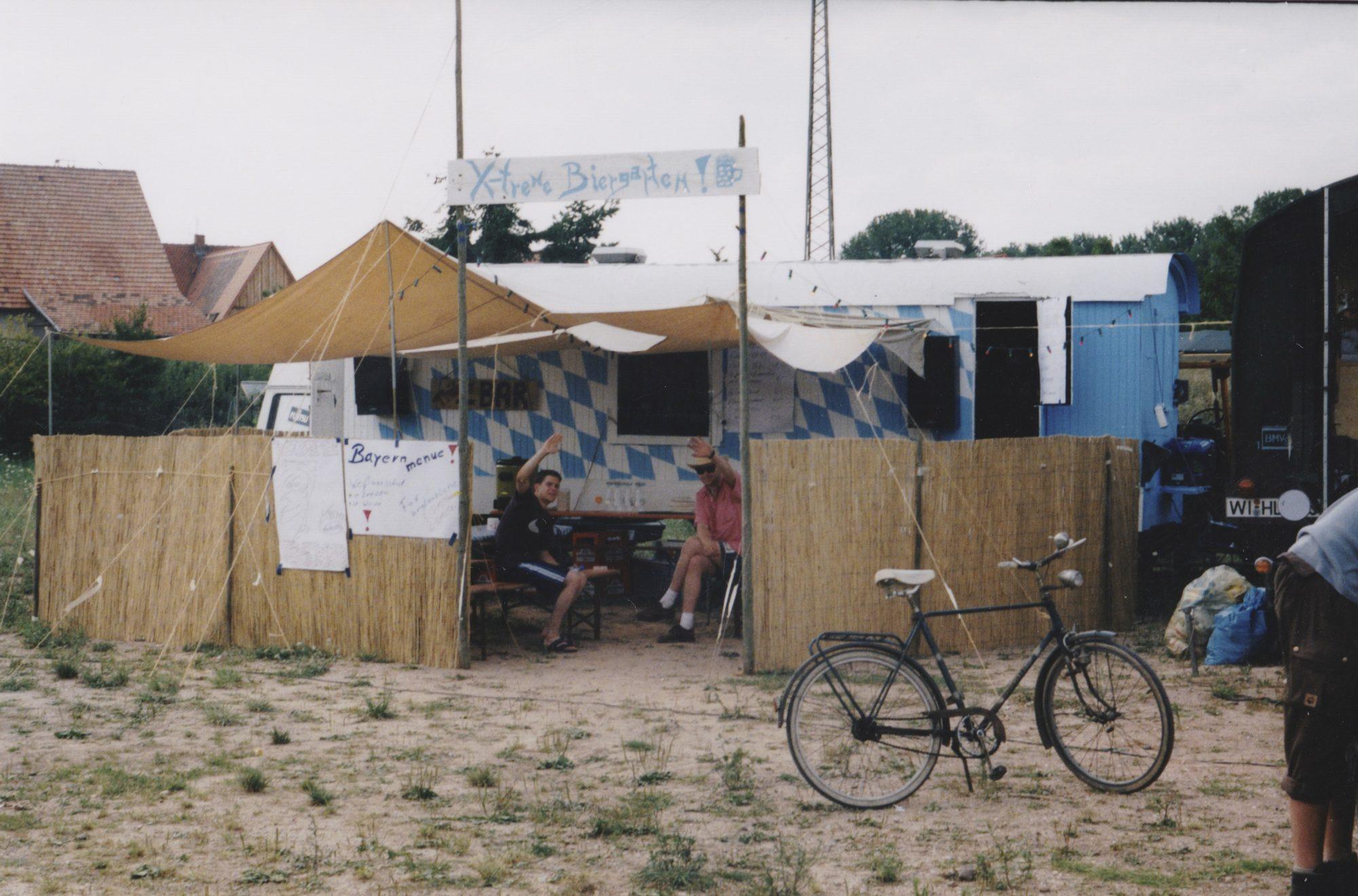 Sommer 1999 - Mit einem 11m Gespann zwei Wochen lang durch die Pfalz.