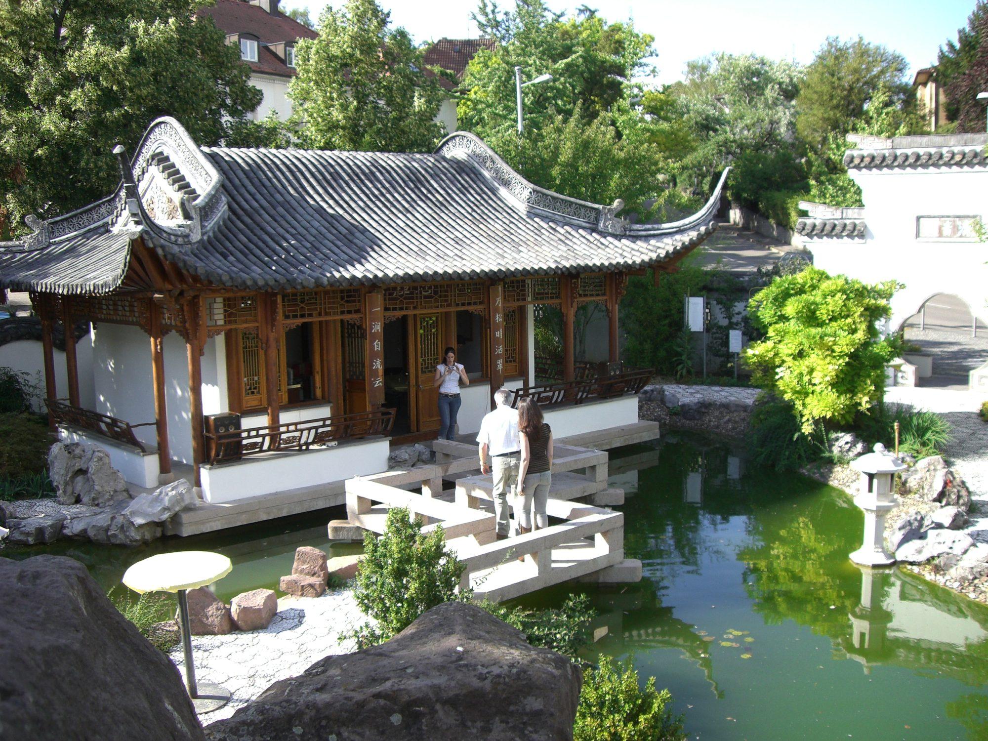 29. Juli 2007 - Thilos 30ster im chinesischen Garten.