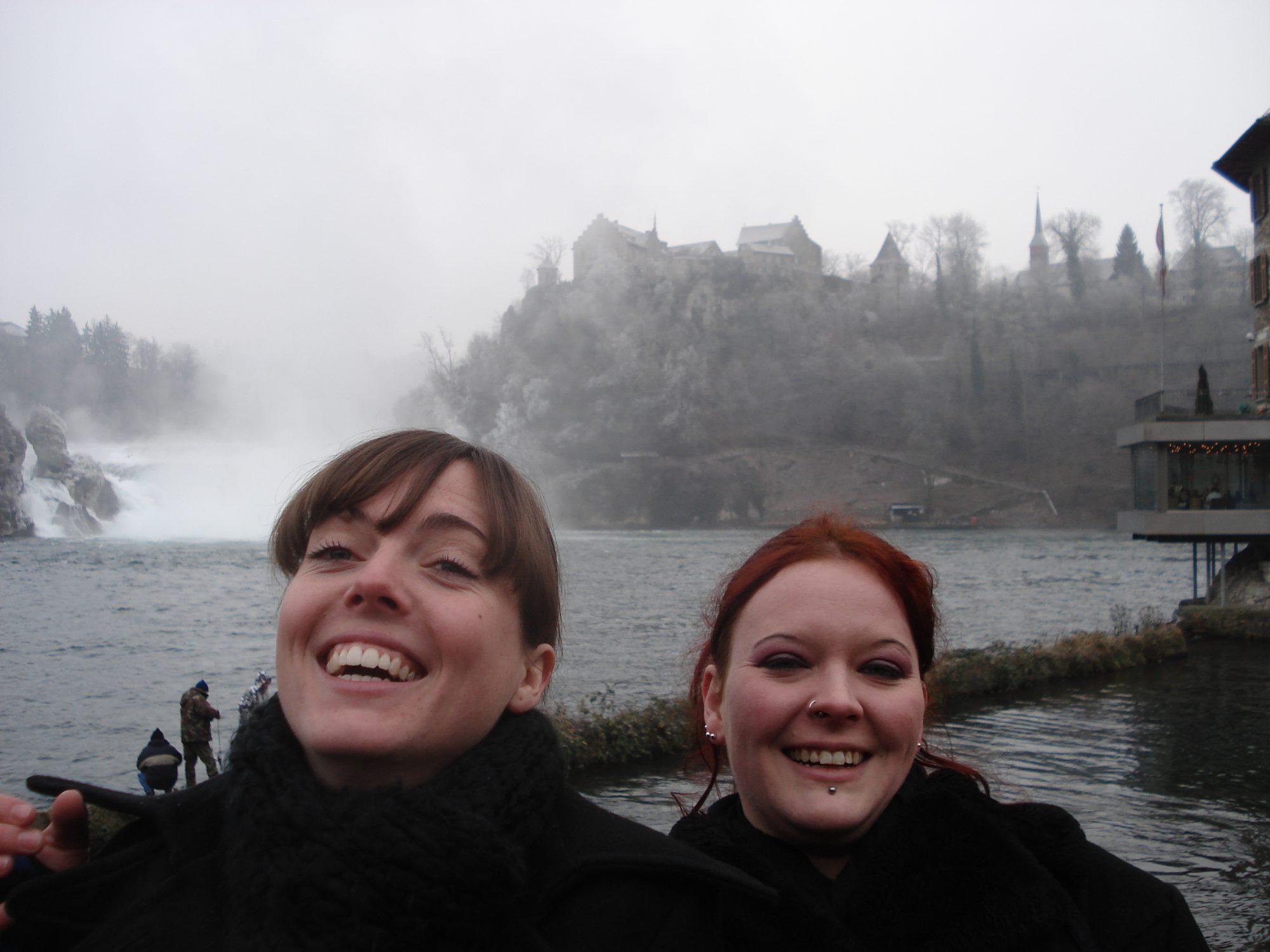 2007 - Rheinfall im Winter
