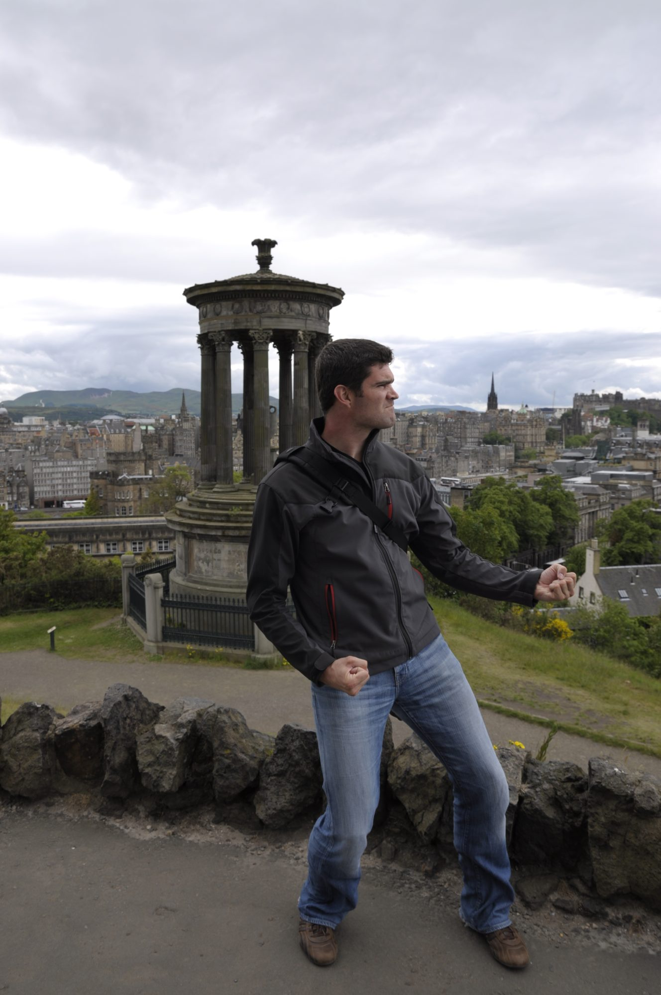 Juni 2011 – In Schottland. Thilo in Edinbourgh.