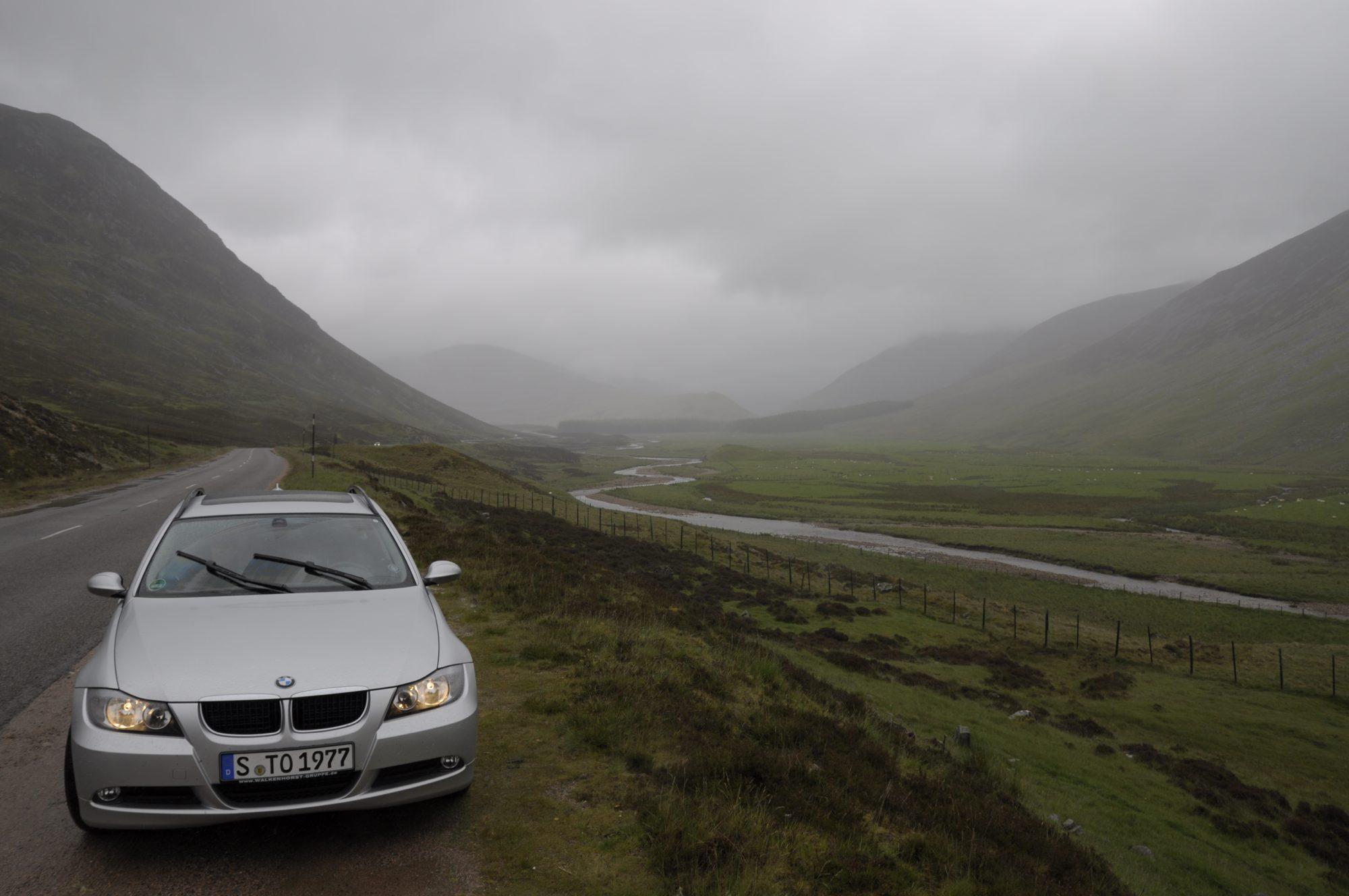 2011 - Schottland Tour. 5500 km in 2 Wochen.