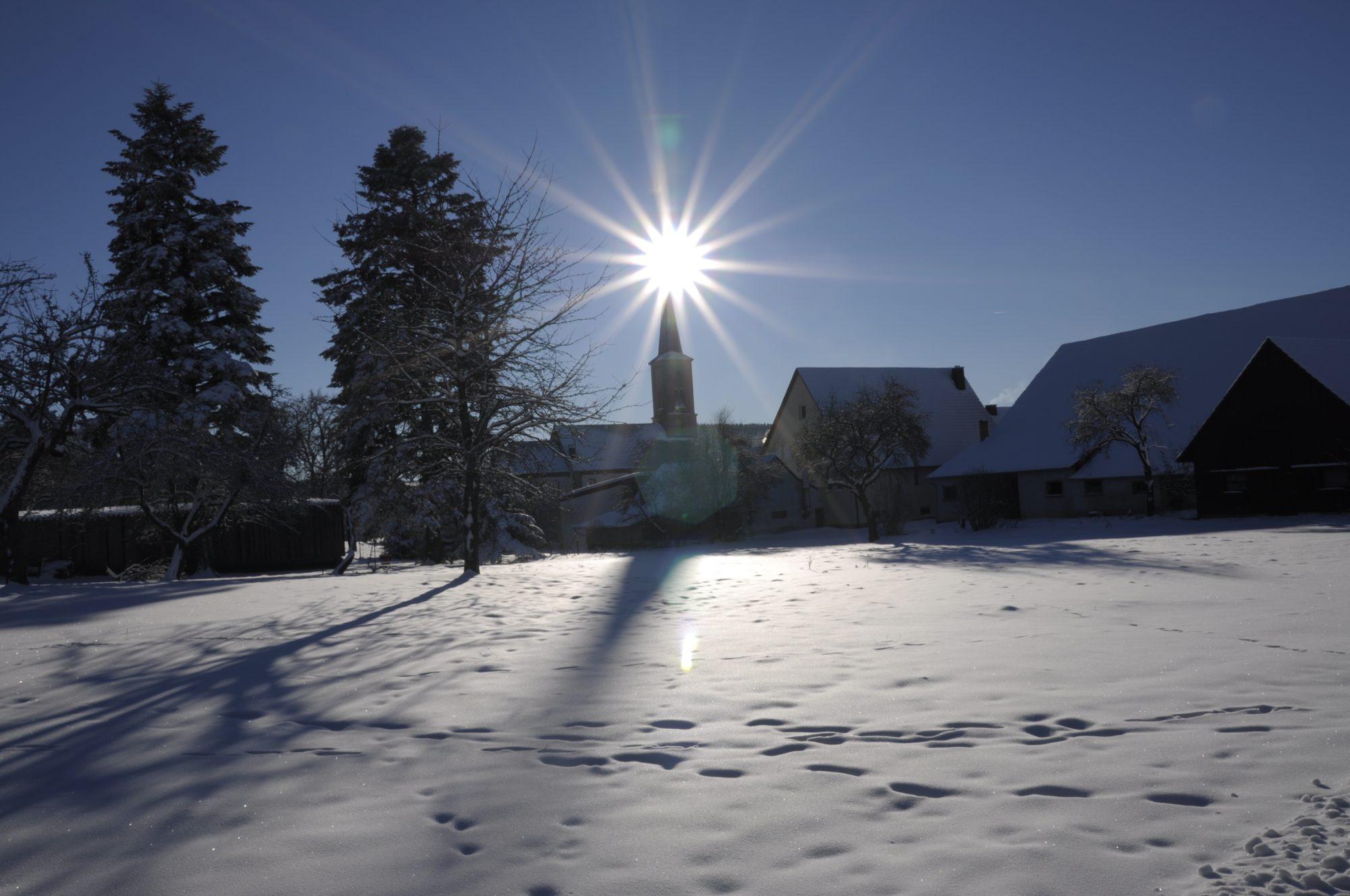Dezember 2010 - Winterlandschaft auf dem Fürstenberg.