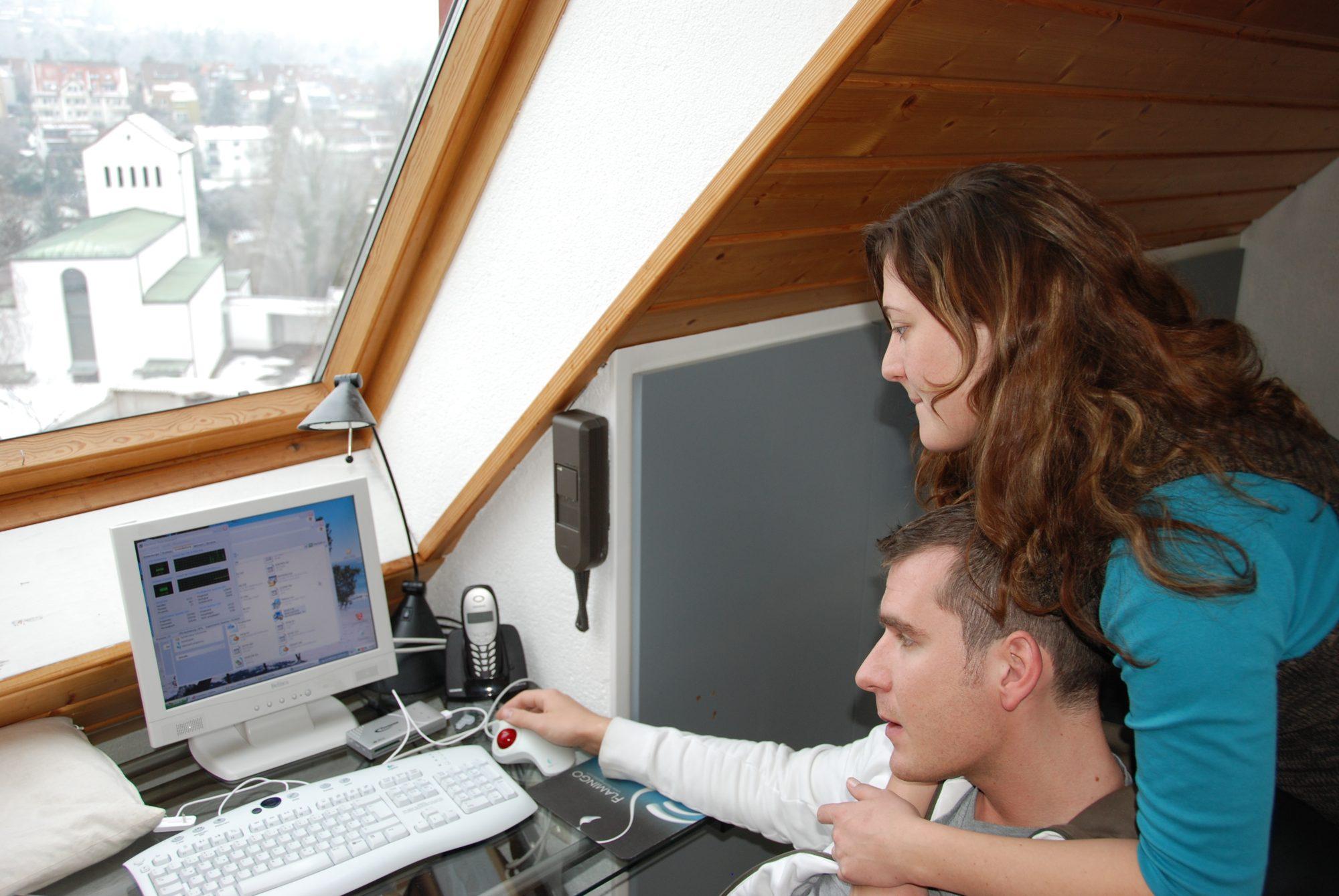 1. Januar 2008 - Martin und Nadine