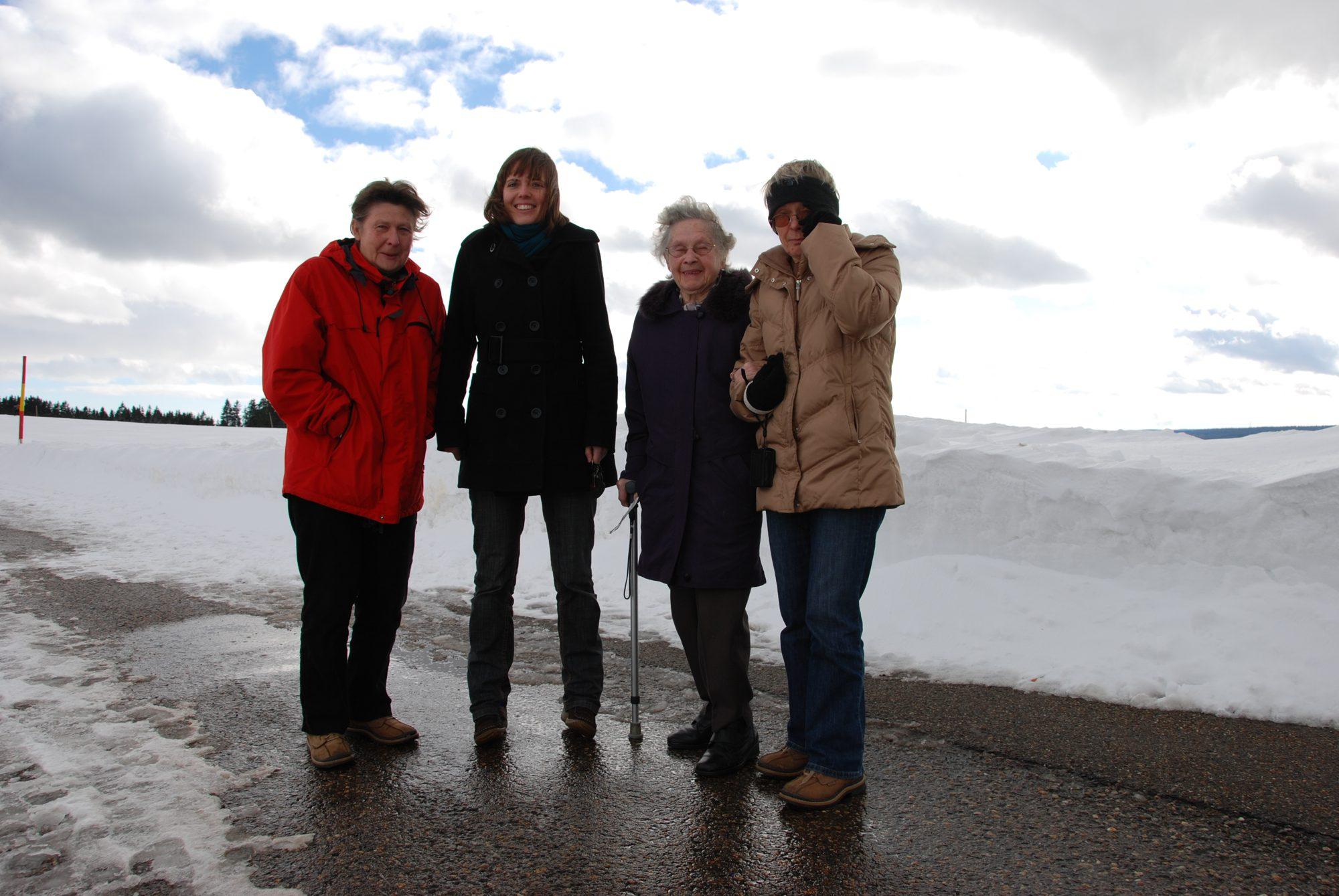 2010 - Generations. Rita, Luisa, Oma und Mama.