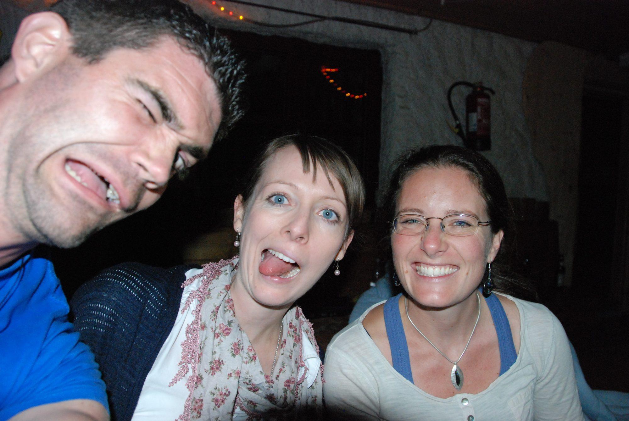 Juni 2012 – Familientreffen im Allgäu. Thilo, Maria und Elisa... Ohne Worte.