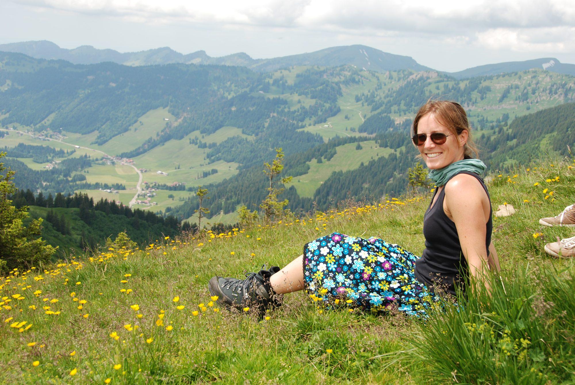 Juni 2012 – Familientreffen im Allgäu. Anna.