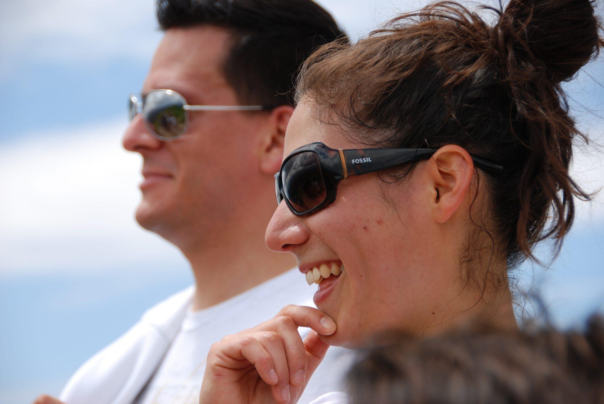 Juni 2012 – Familientreffen im Allgäu. Marcos und Noemi.