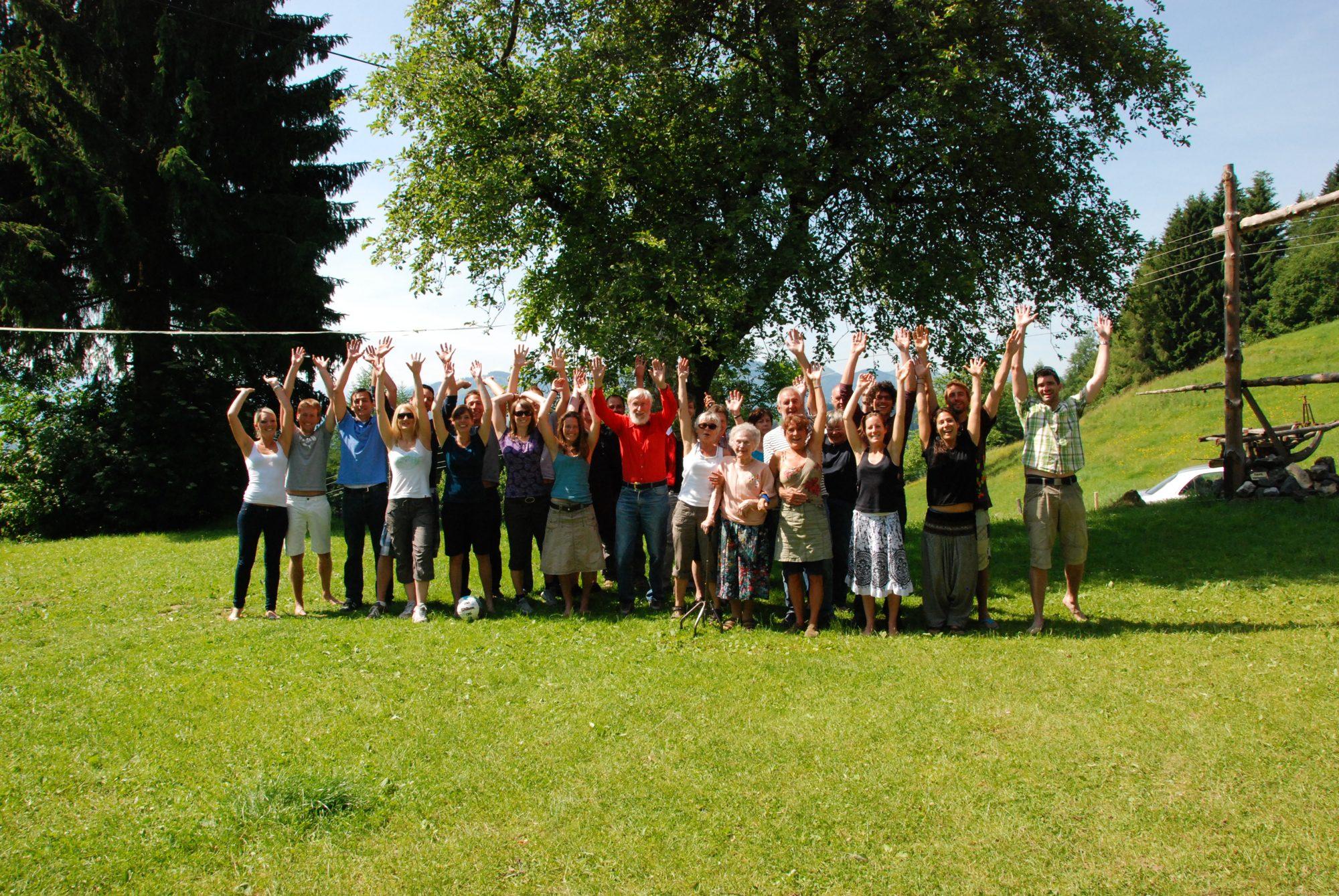 Das Maierische Familientreffen im Sommer 2012 im Allgäu.