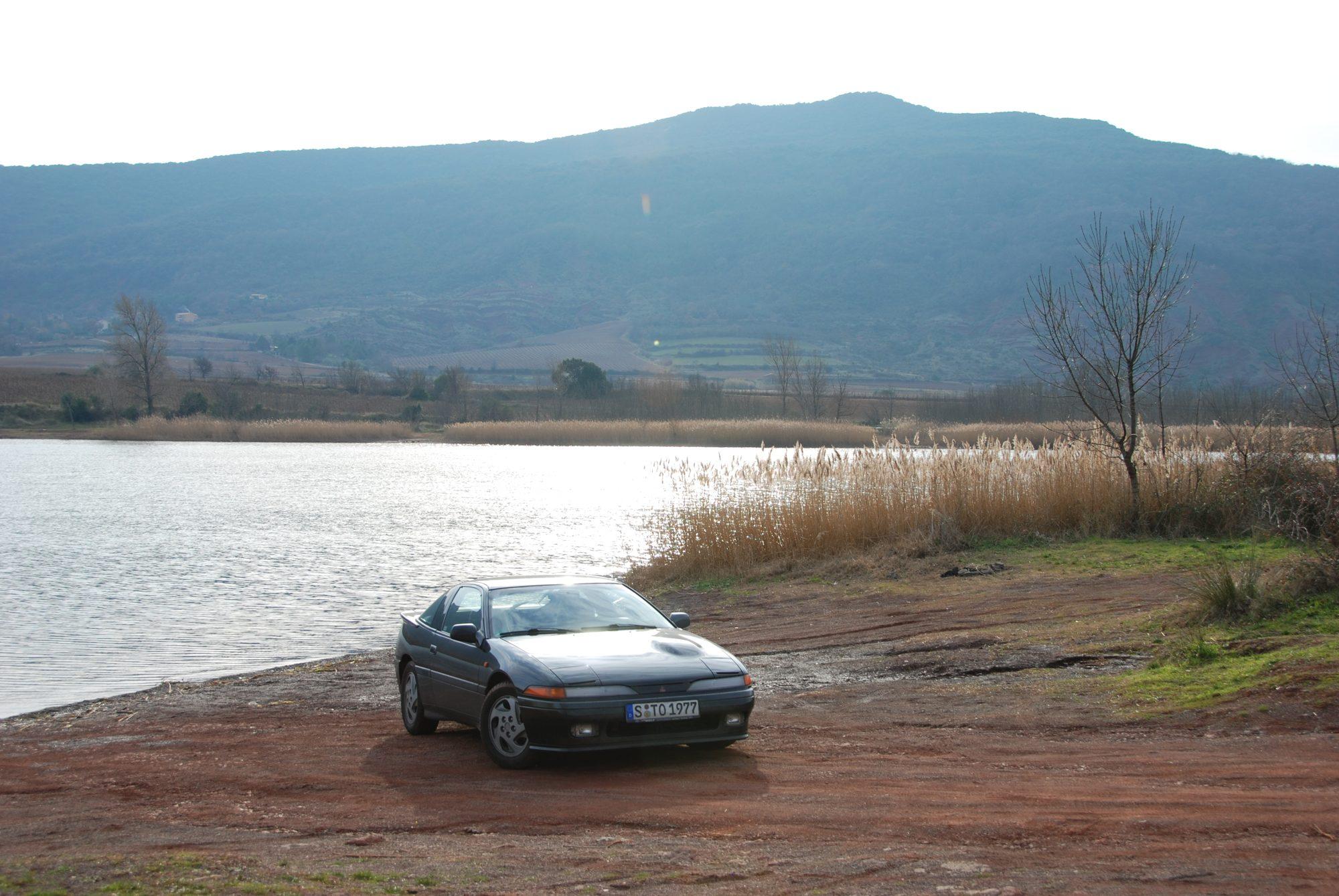 Januar 2009 - In Südfrankreich am Lac du Salagou.