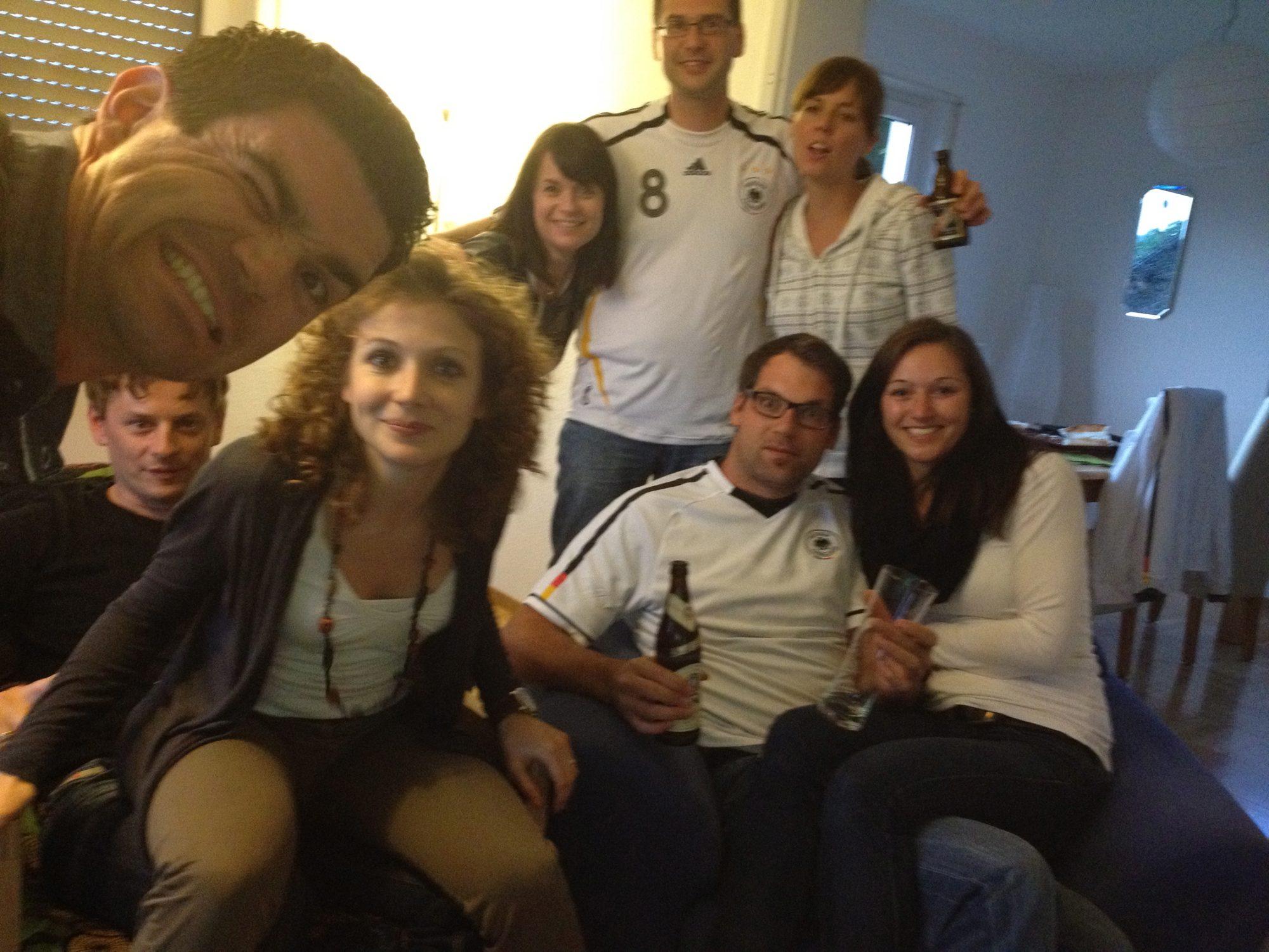 2012 - EM bei Thilo und Luisa