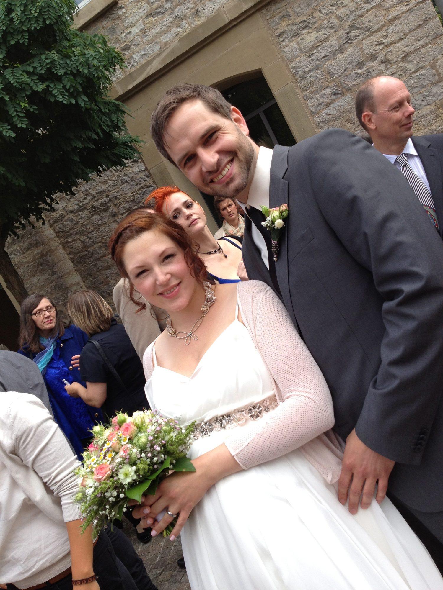 Hochzeit von Cathrin und Felix 2012.