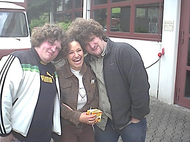 BKFH 2002 - Im Schulhof während der Pause.