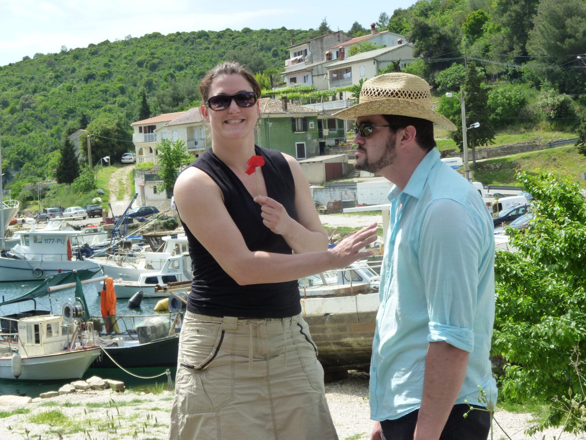 2010 - In Kroatien mit Martin und Nadine