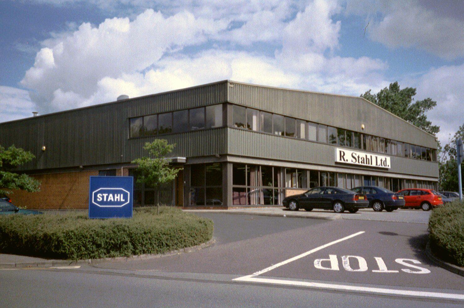 August 2001 - 4 Wochen habe ich in Birmingham bei der Fa. Stahl gearbeitet.