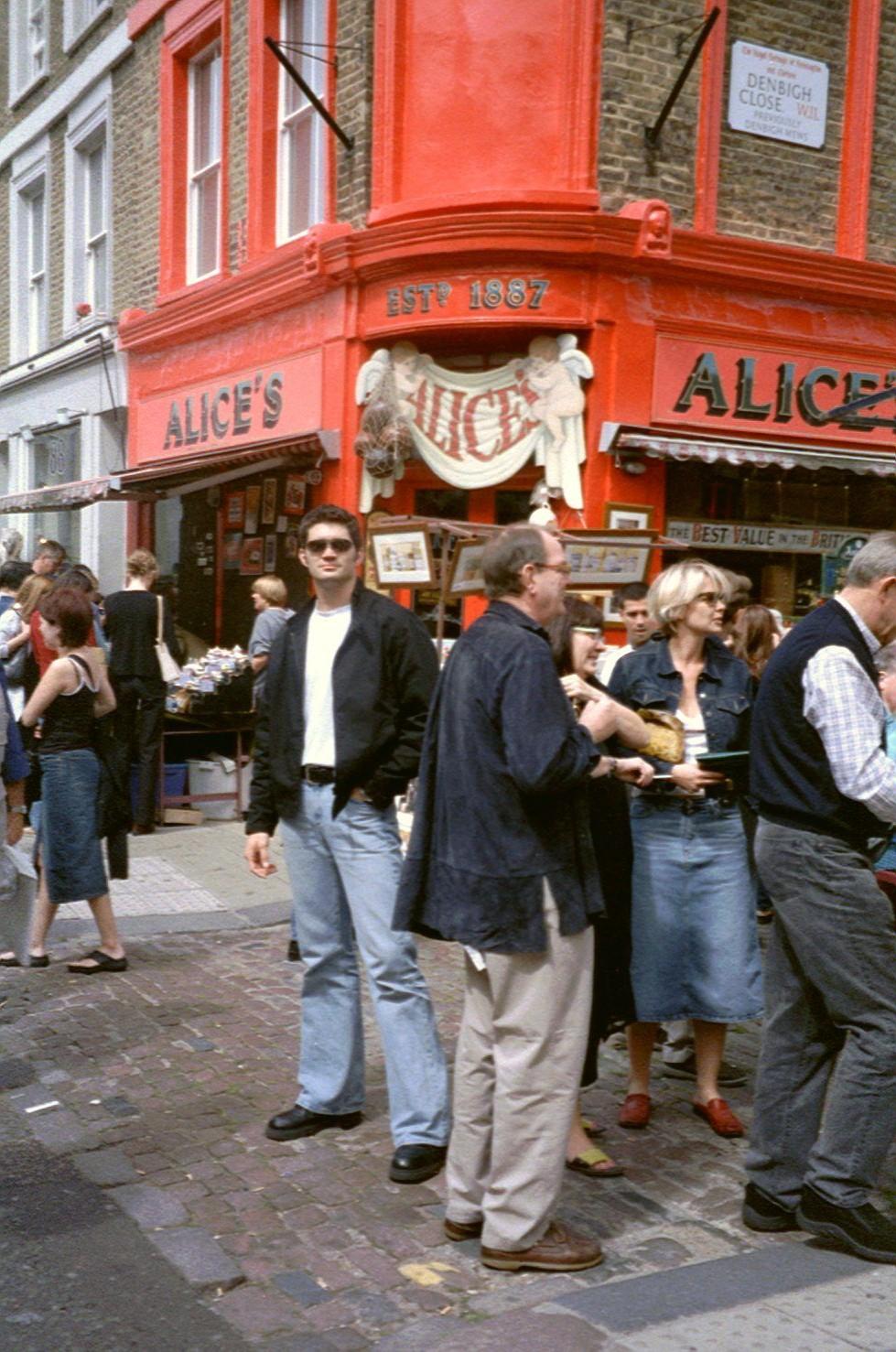 August 2001 - 4 Wochen habe ich in Birmingham bei der Fa. Stahl gearbeitet. Dieses Bild entstand in London.