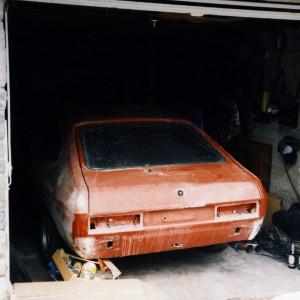 1998 - Umbauarbeiten am Capri