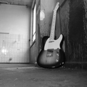 Alleycats Fotoshooting in Heilbronn - Lonesome Guitar