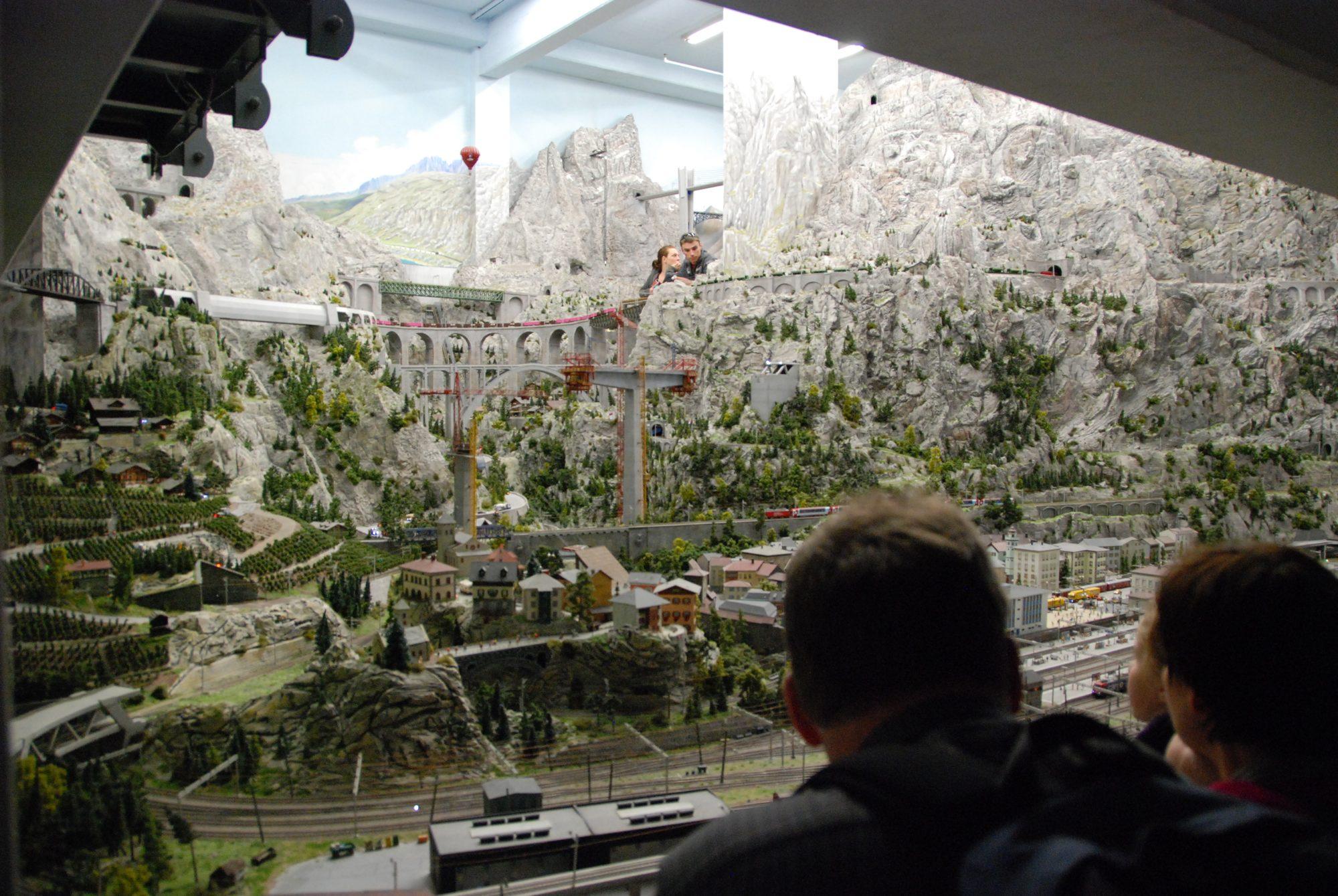 Hamburg - Miniatur Wunderland, Schweiz