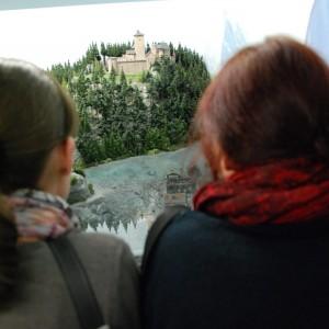 Hamburg - Miniatur Wunderland, Luisa und Johanna