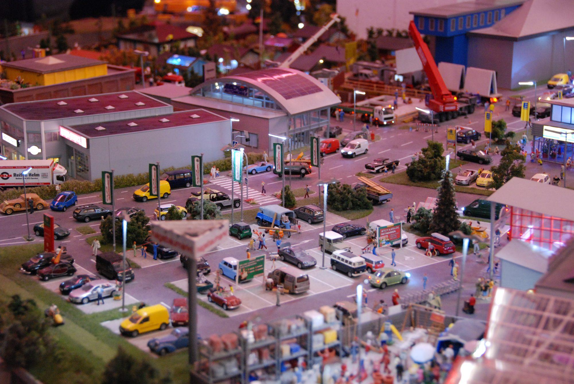 Hamburg - Miniatur Wunderland, Details...