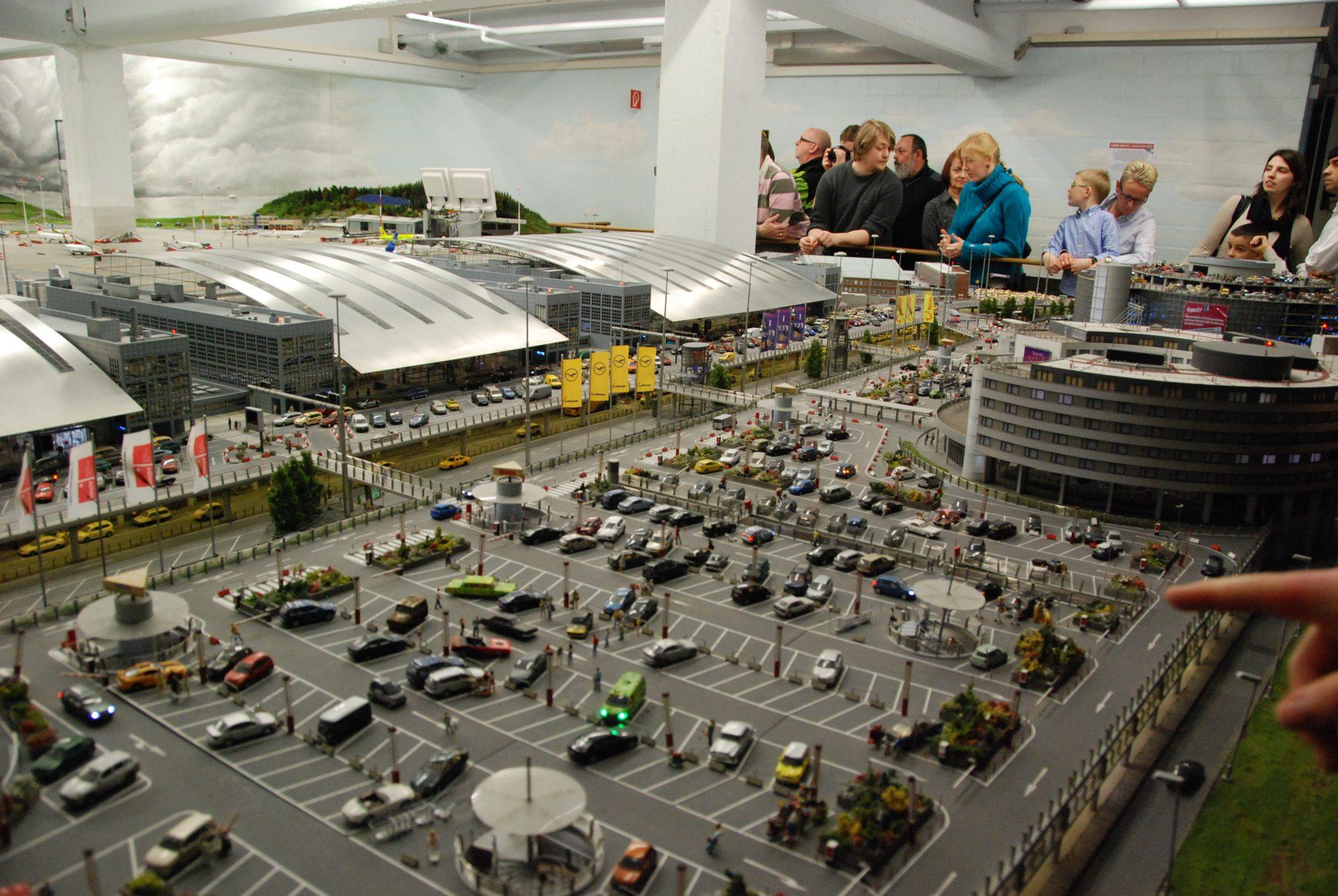 Hamburg - Miniatur Wunderland, Flughafen