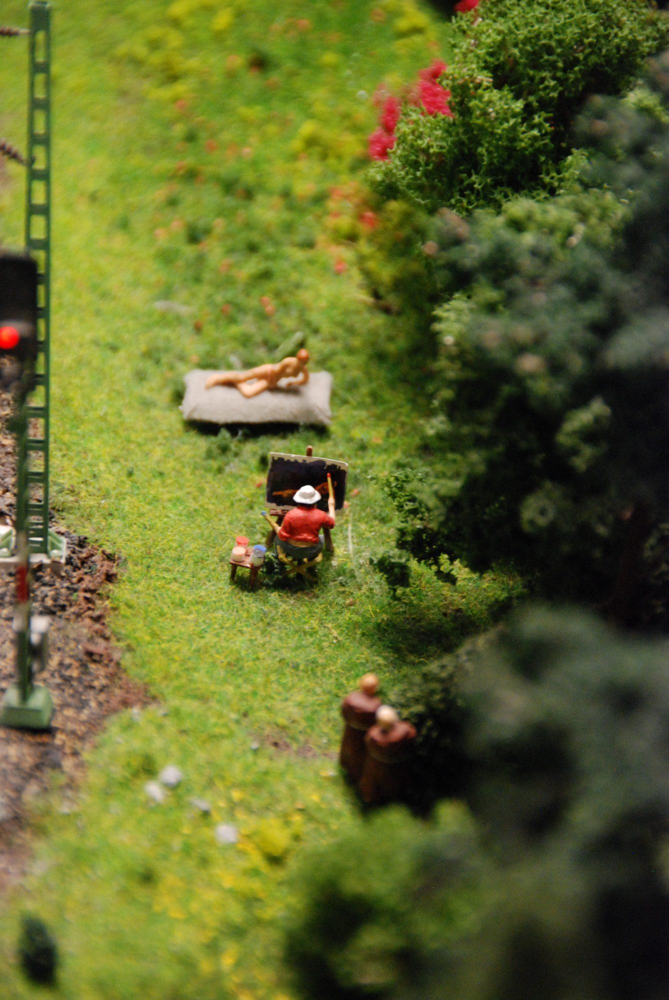 Hamburg - Miniatur Wunderland, Aktportrait