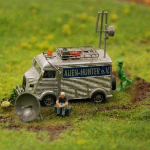 Hamburg - Miniatur Wunderland, Alien Hunter