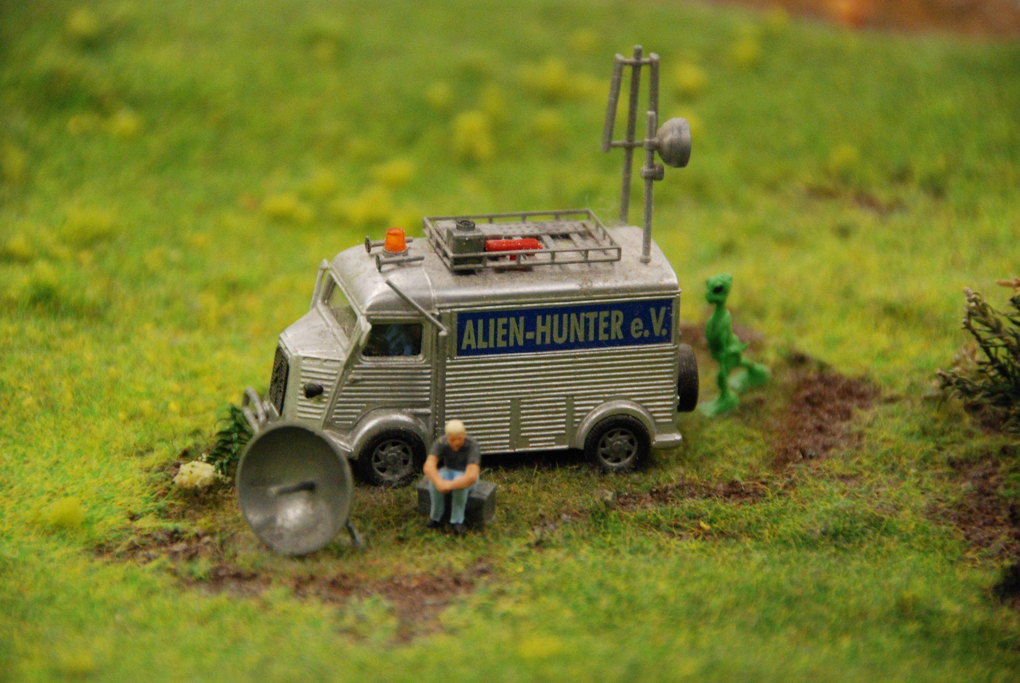 Hamburg - Miniatur Wunderland, Alien Hunter