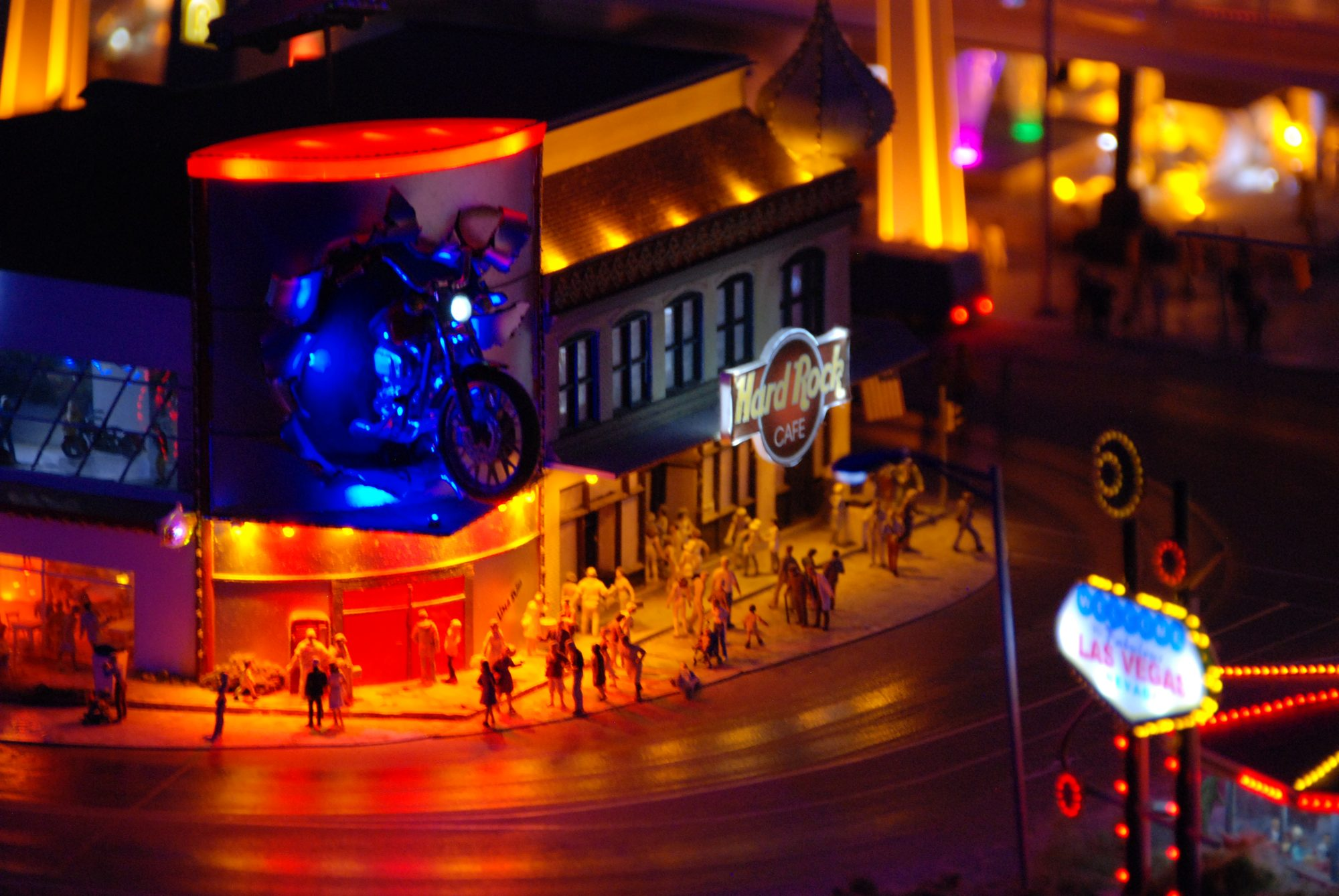 Hamburg - Miniatur Wunderland, Las Vegas
