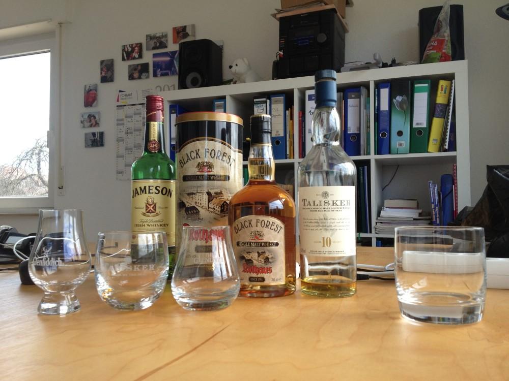 Das richtige Whisk(e)y Glas