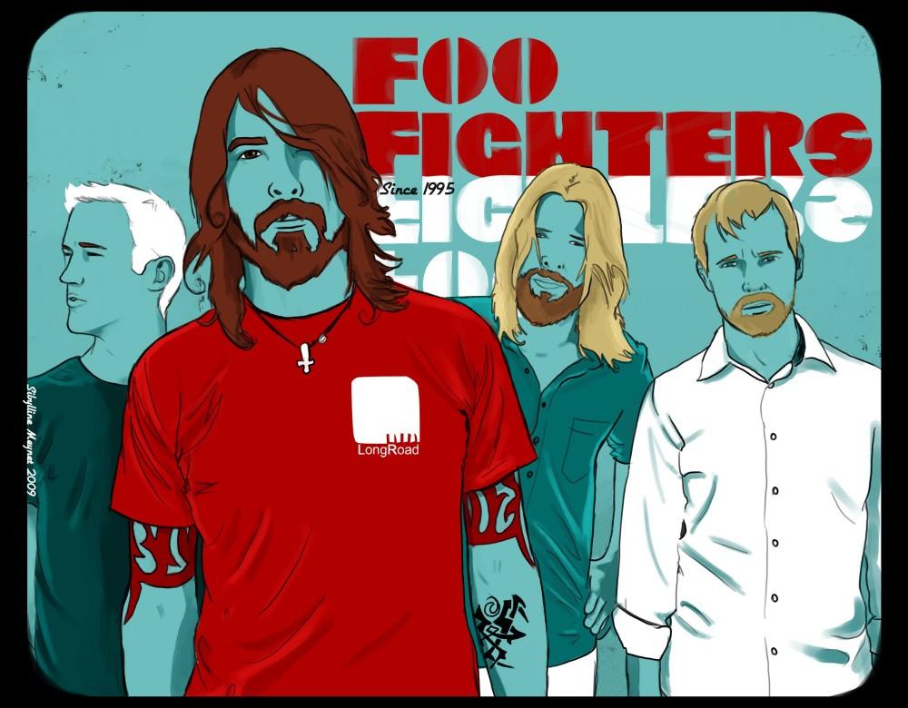Die Foo Fighters sind eine US-amerikanische Rockband. Prominentestes Mitglied und Band-Gründer ist der ehemalige Nirvana-Schlagzeuger Dave Grohl.