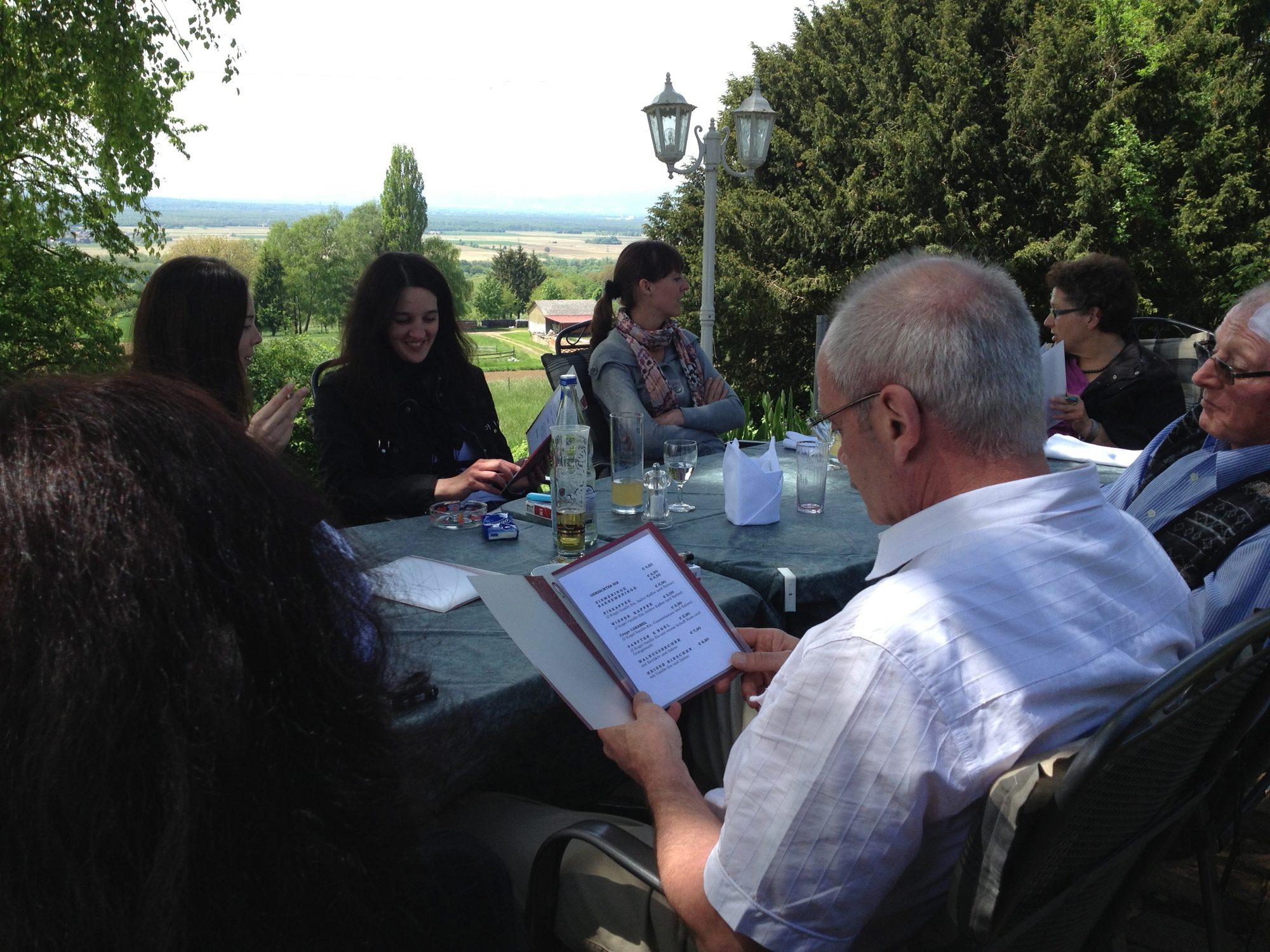 Patchwork Familientreffen in Bad Bellingen auf dem Berghofstüble.