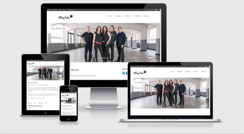 Die neue Website der AlleyCats – Responsive Design, Retina-Display Unterstützung und Off-Canvas Navigation bei Smartphones