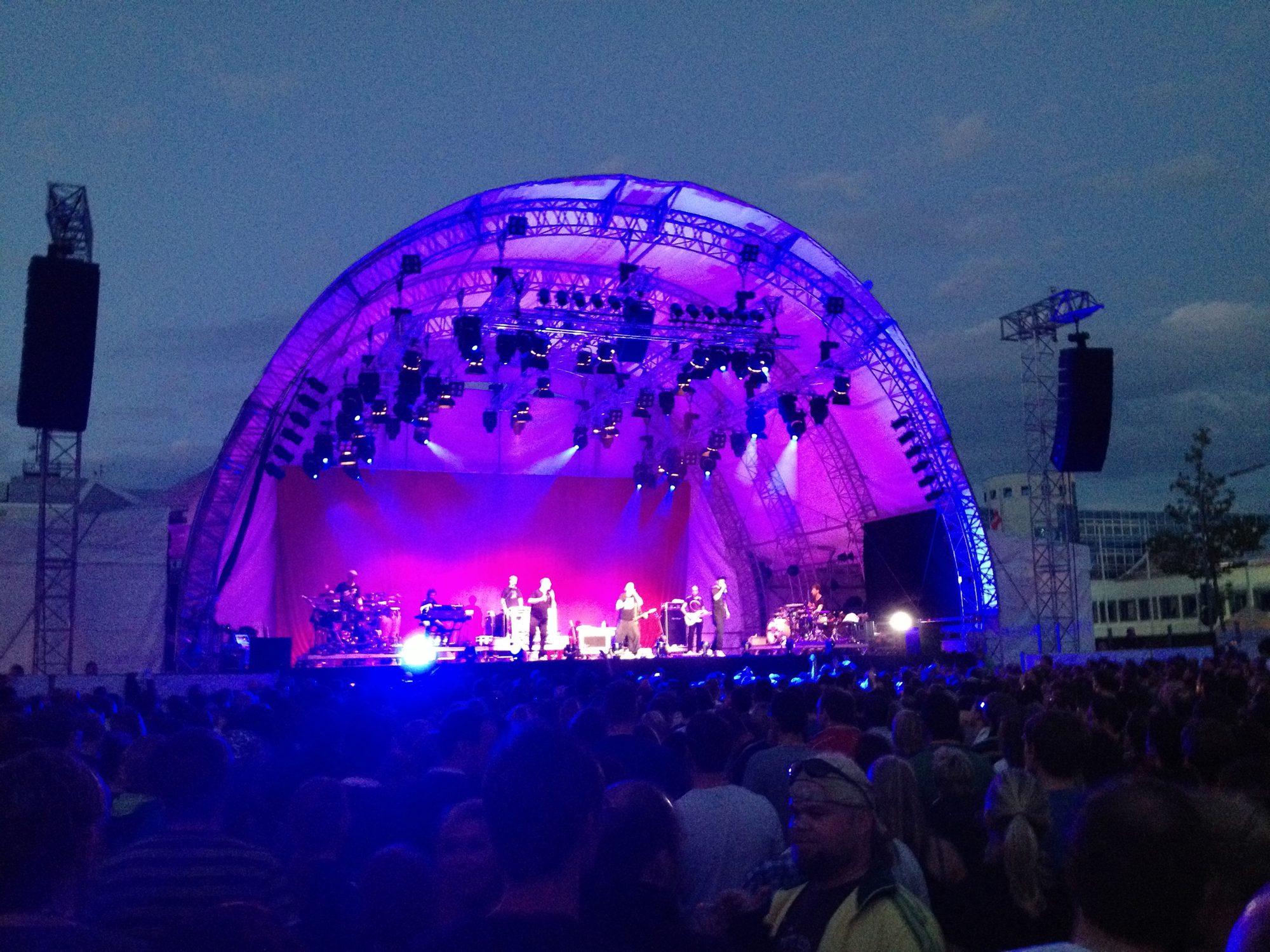 Die Fantastischen Vier auf dem Würth Open Air Konzert in Gaisbach/Künzelsau