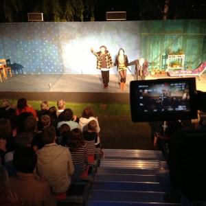 Madame Muskat alias Nadja - Eine tolle Vorstellung! Theater im Fluss - Liliom