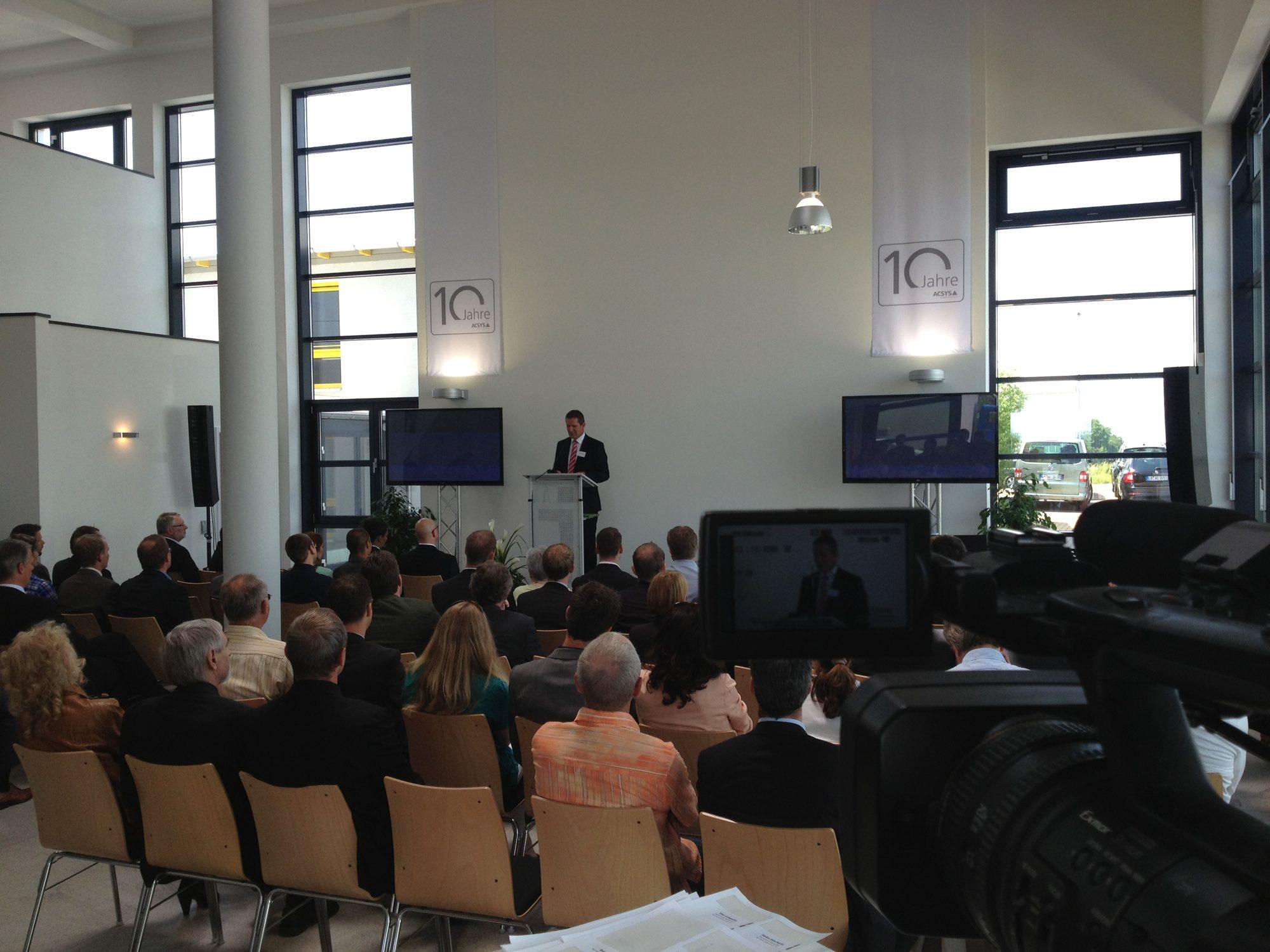 10 Jahre ACSYS Jubiläumsfeier in Mittweida