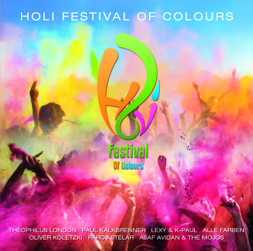 Holi Festival Of Colours - CD