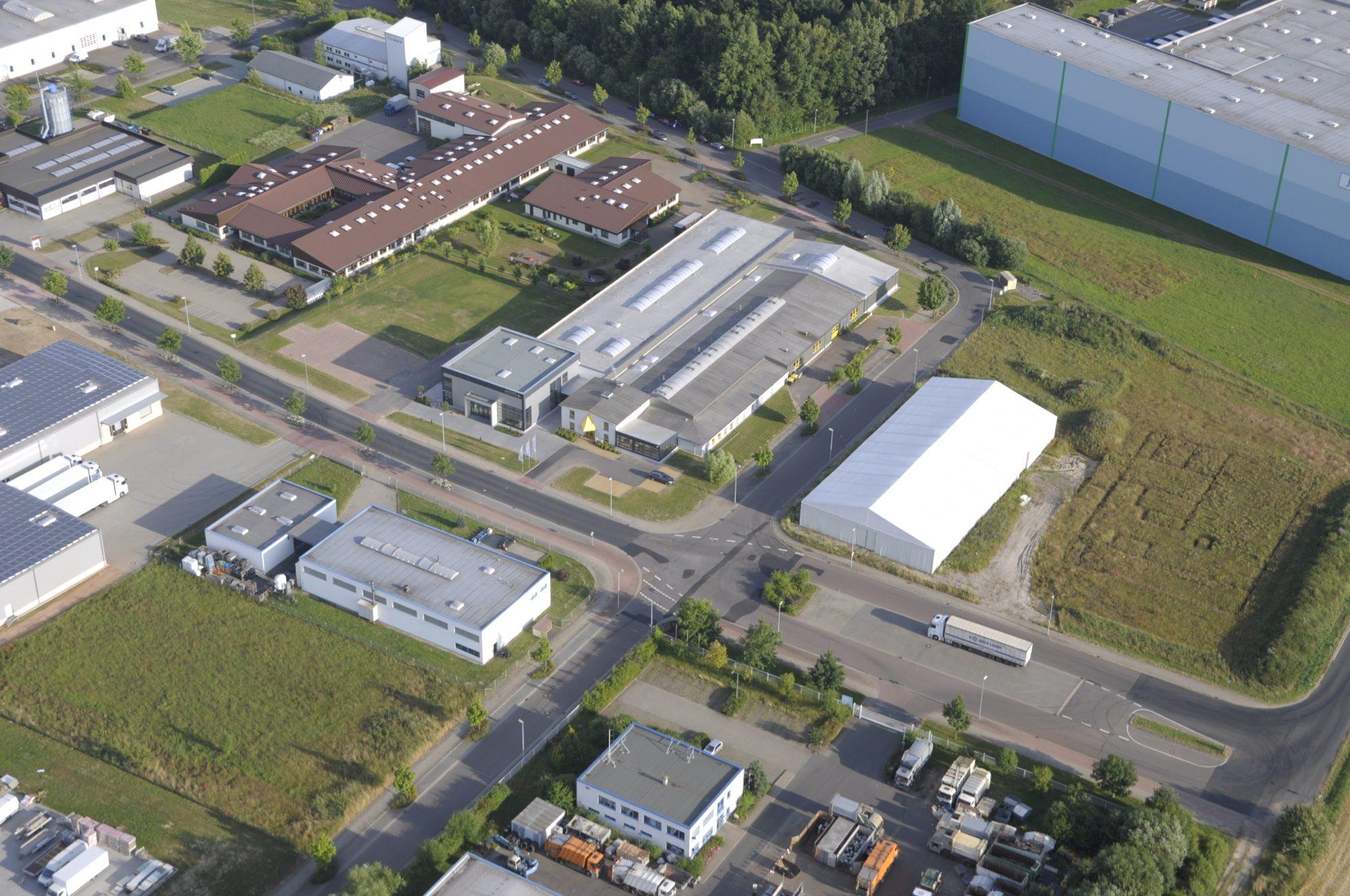 Das neue Entwicklungs- und Produktionsgebäude von ACSYS in Mittweida