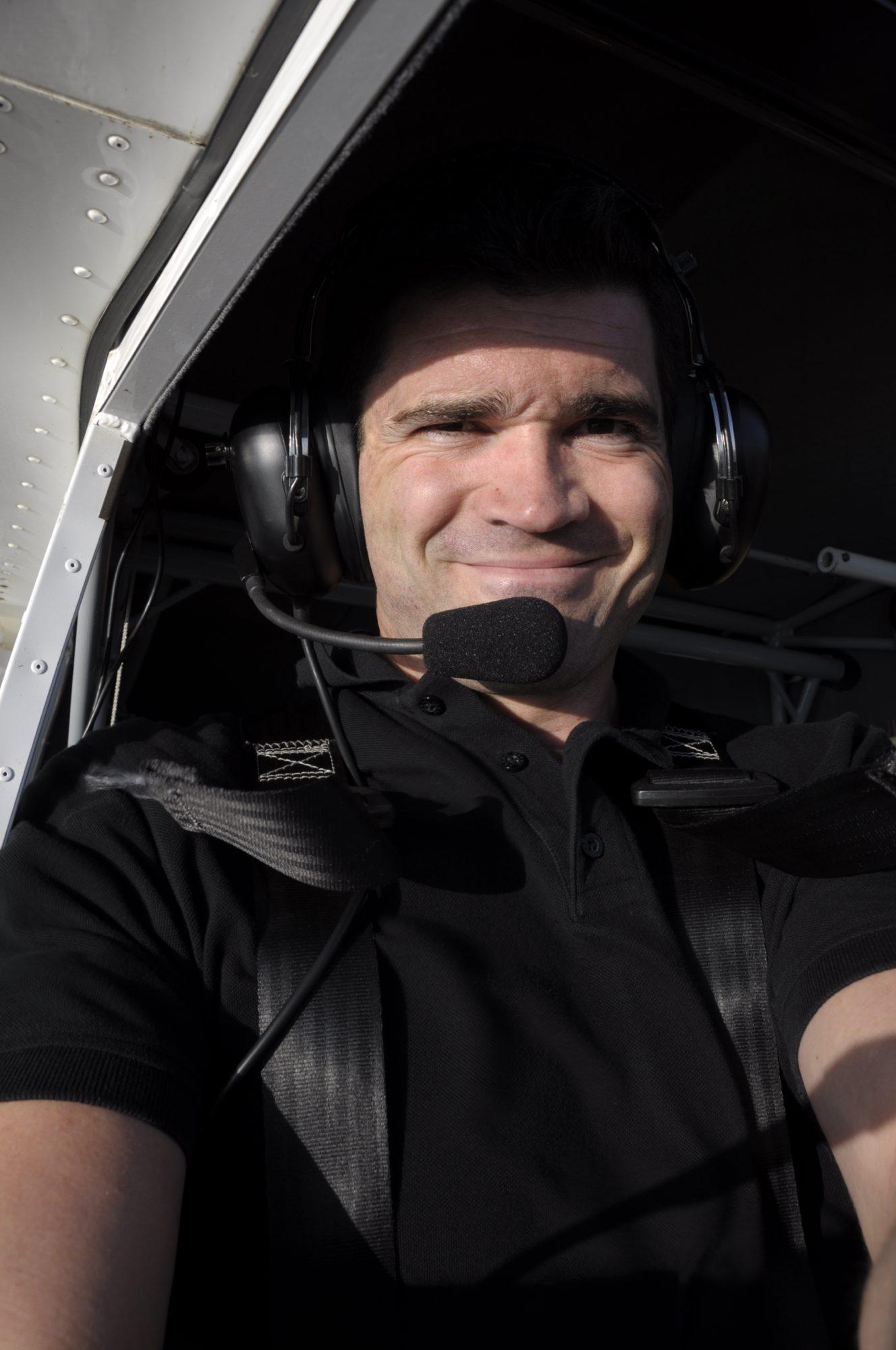 Flying high! Selbstporträt über Mittweida
