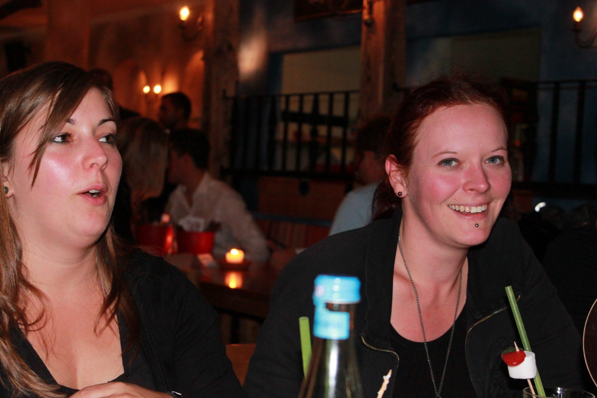 Krissy und Johanna