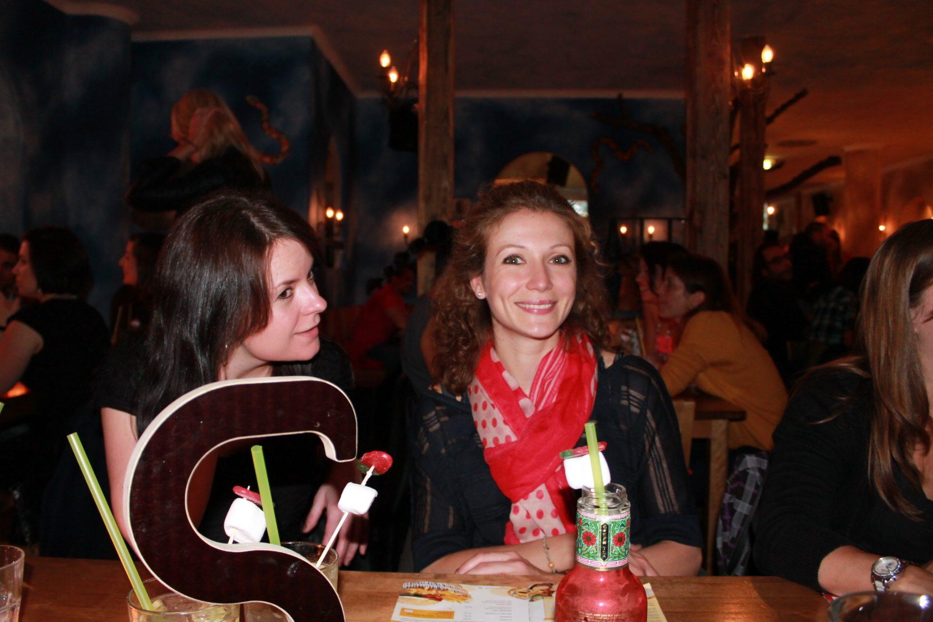 Sonja und Nadine