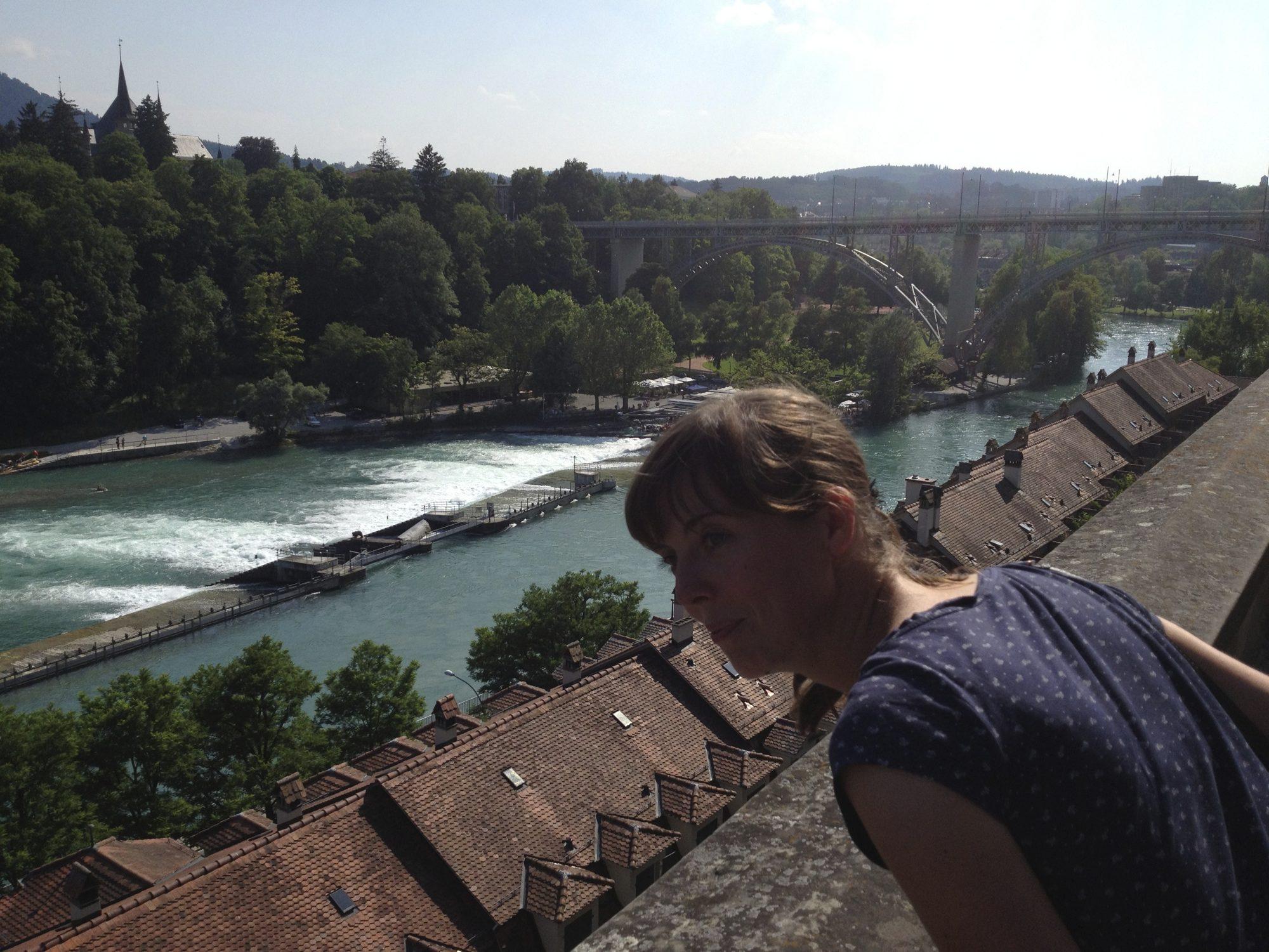In Bern ist die Aussicht großartig!