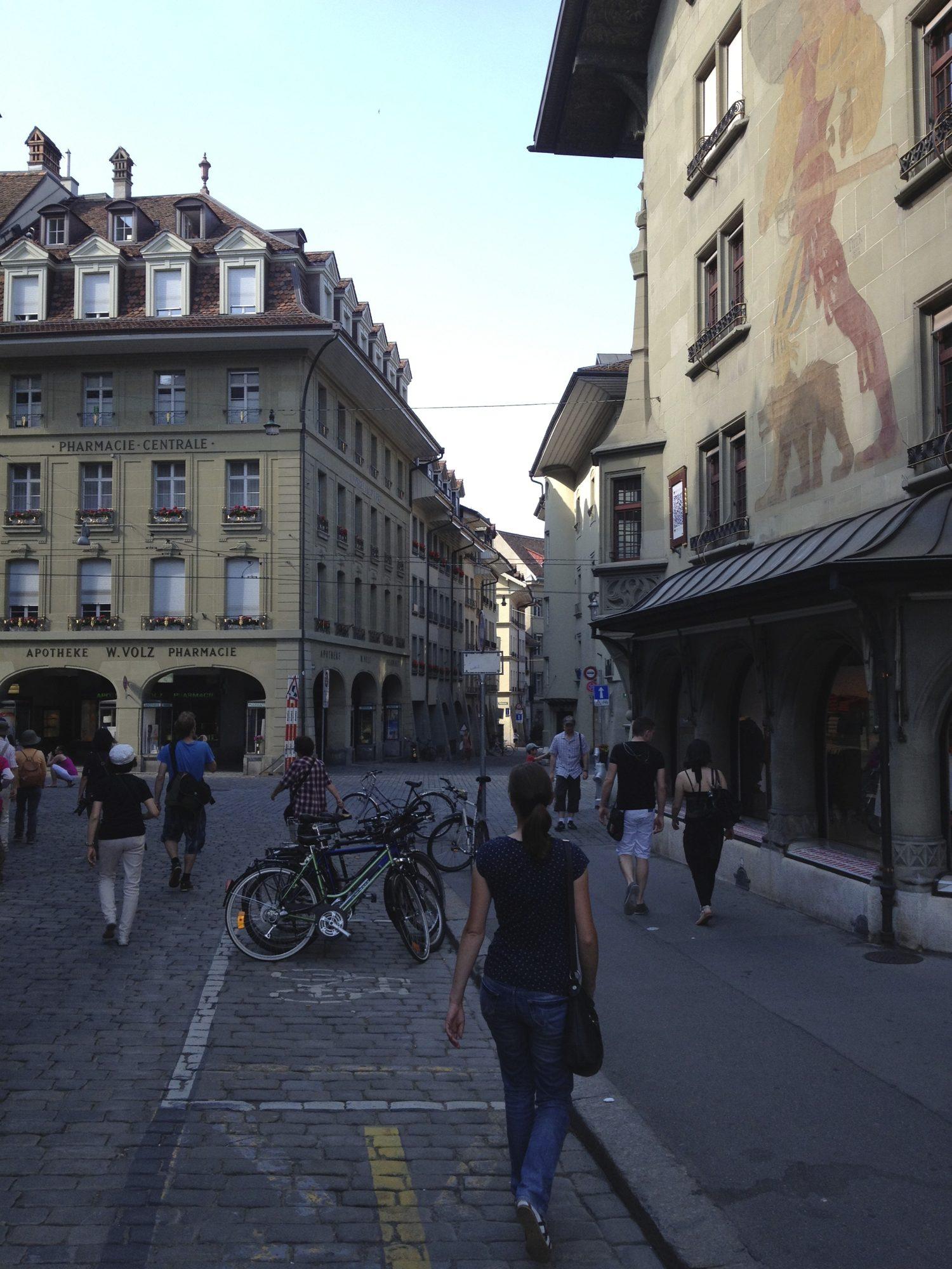 Have a walk in Bern...